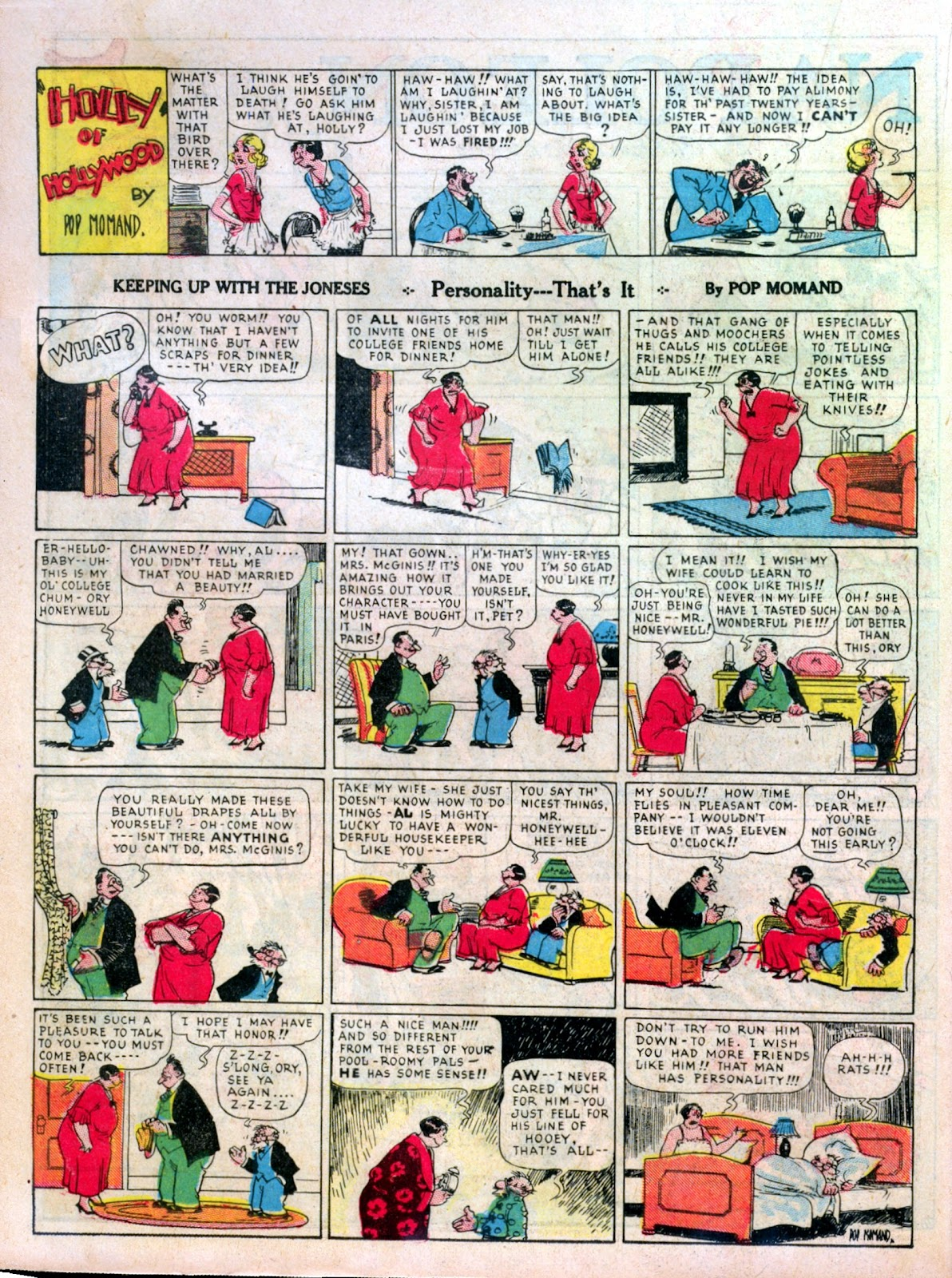 Read online Famous Funnies comic -  Issue #7 - 32
