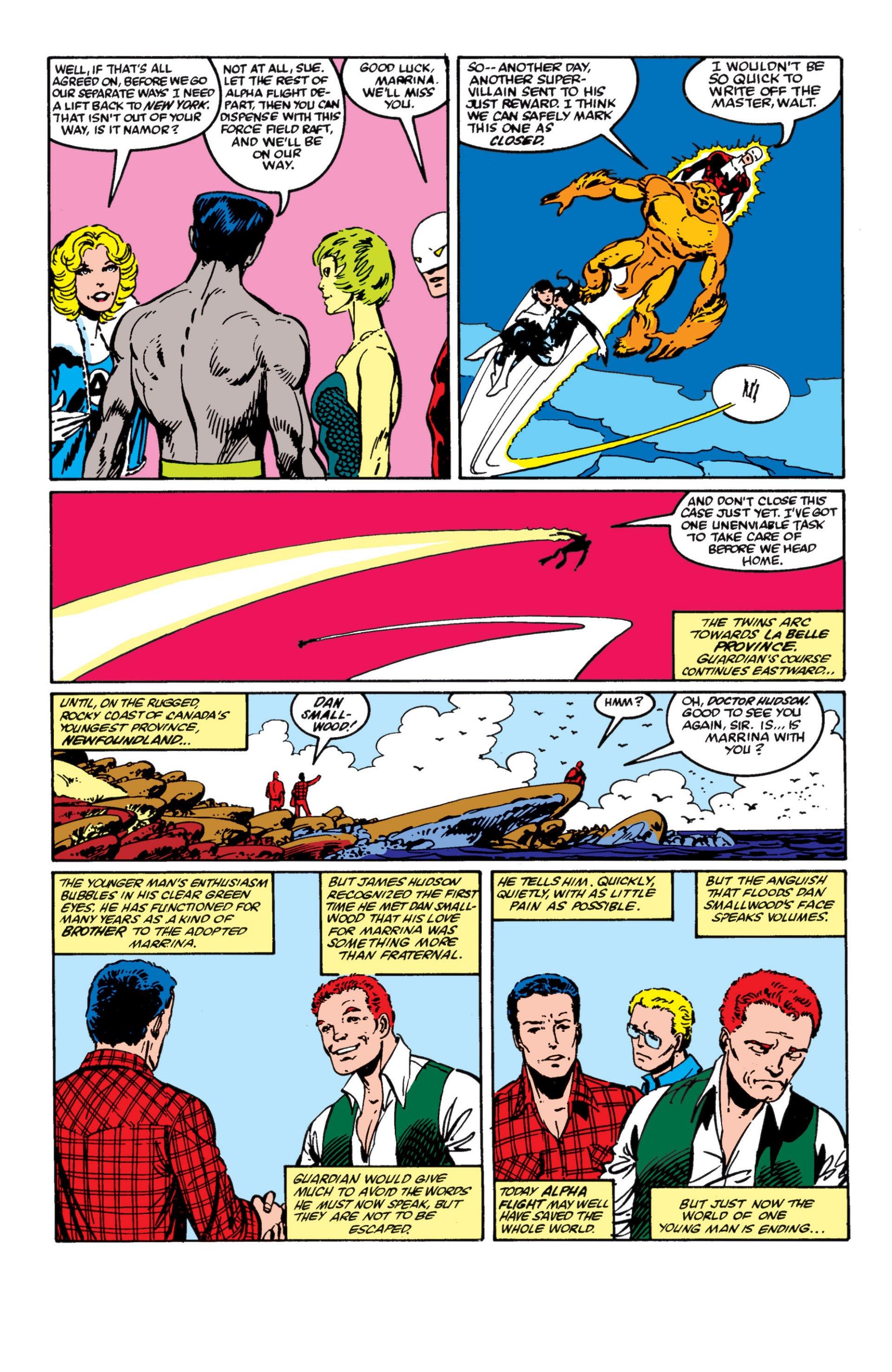 Read online Alpha Flight (1983) comic -  Issue #4 - 21