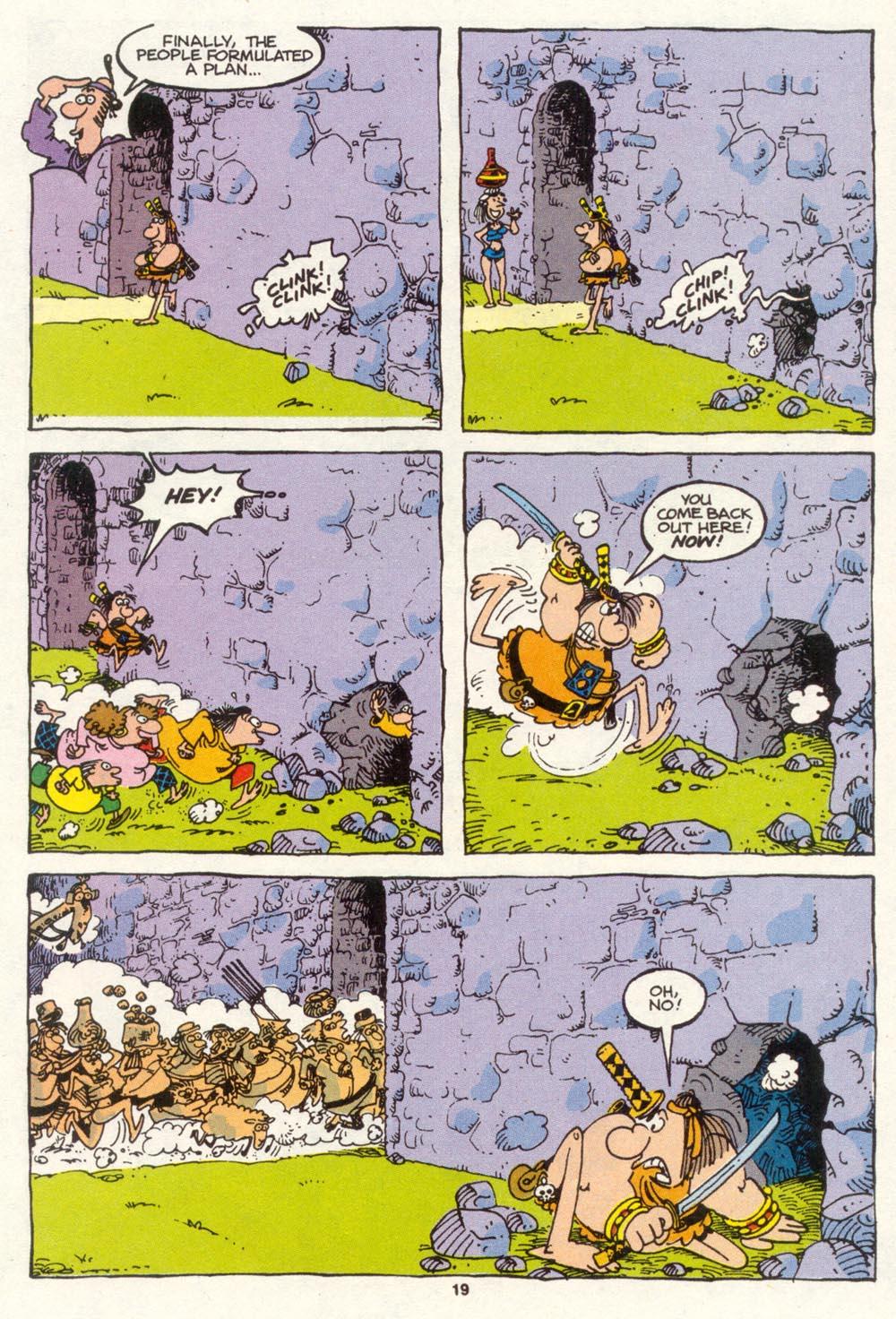 Read online Sergio Aragonés Groo the Wanderer comic -  Issue #86 - 15