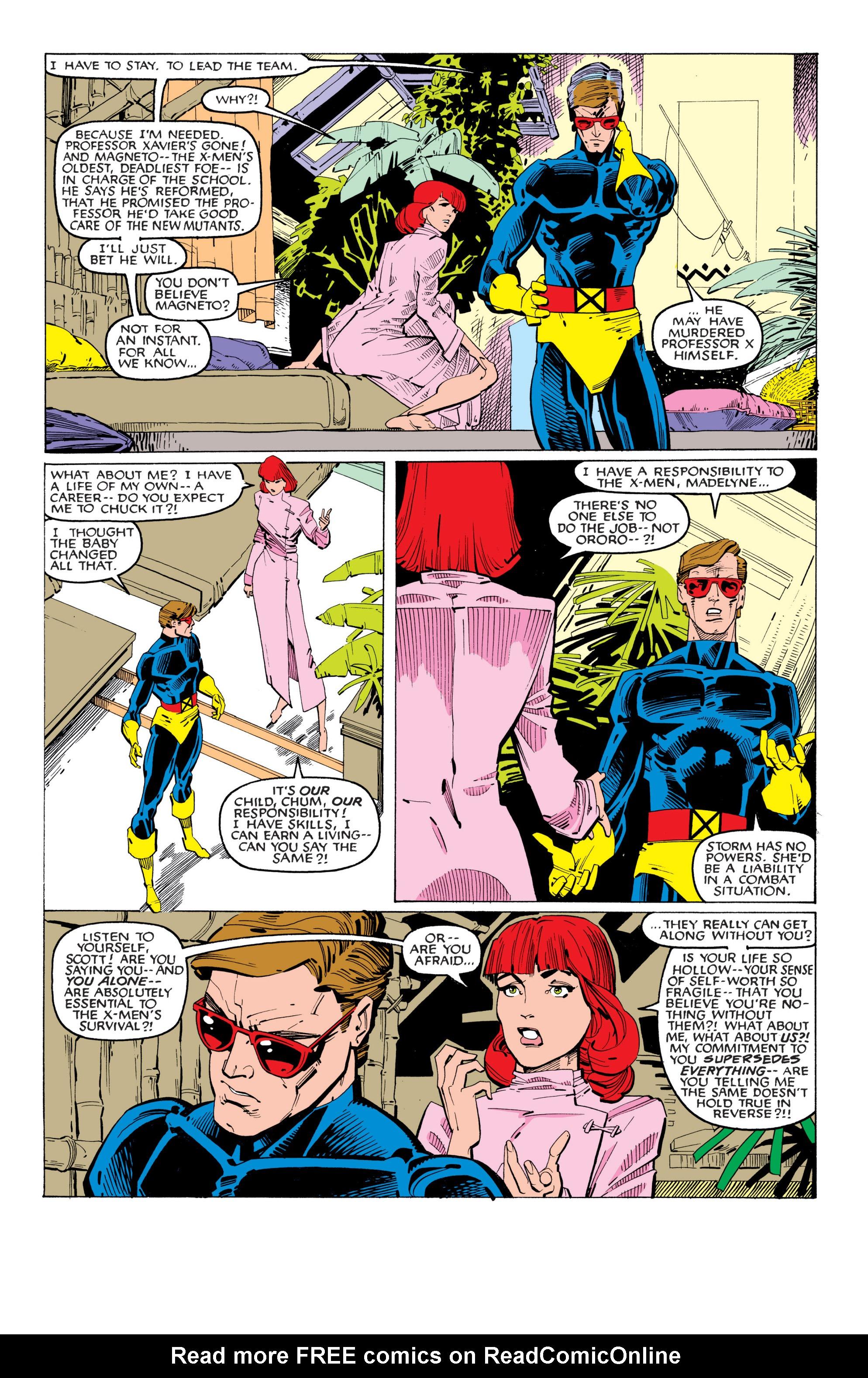 Read online Uncanny X-Men (1963) comic -  Issue #201 - 14