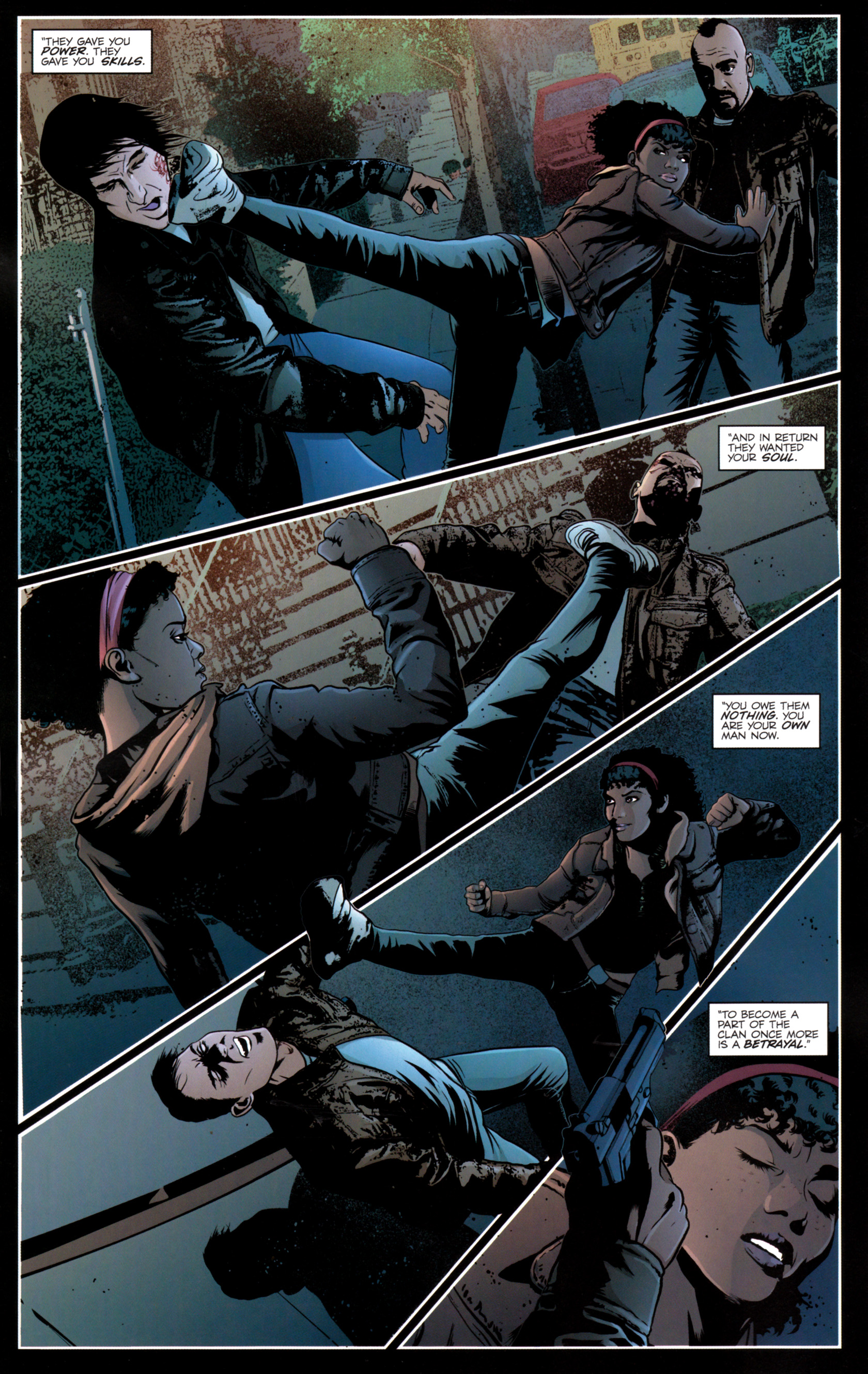 Read online G.I. Joe: Snake Eyes comic -  Issue #12 - 11