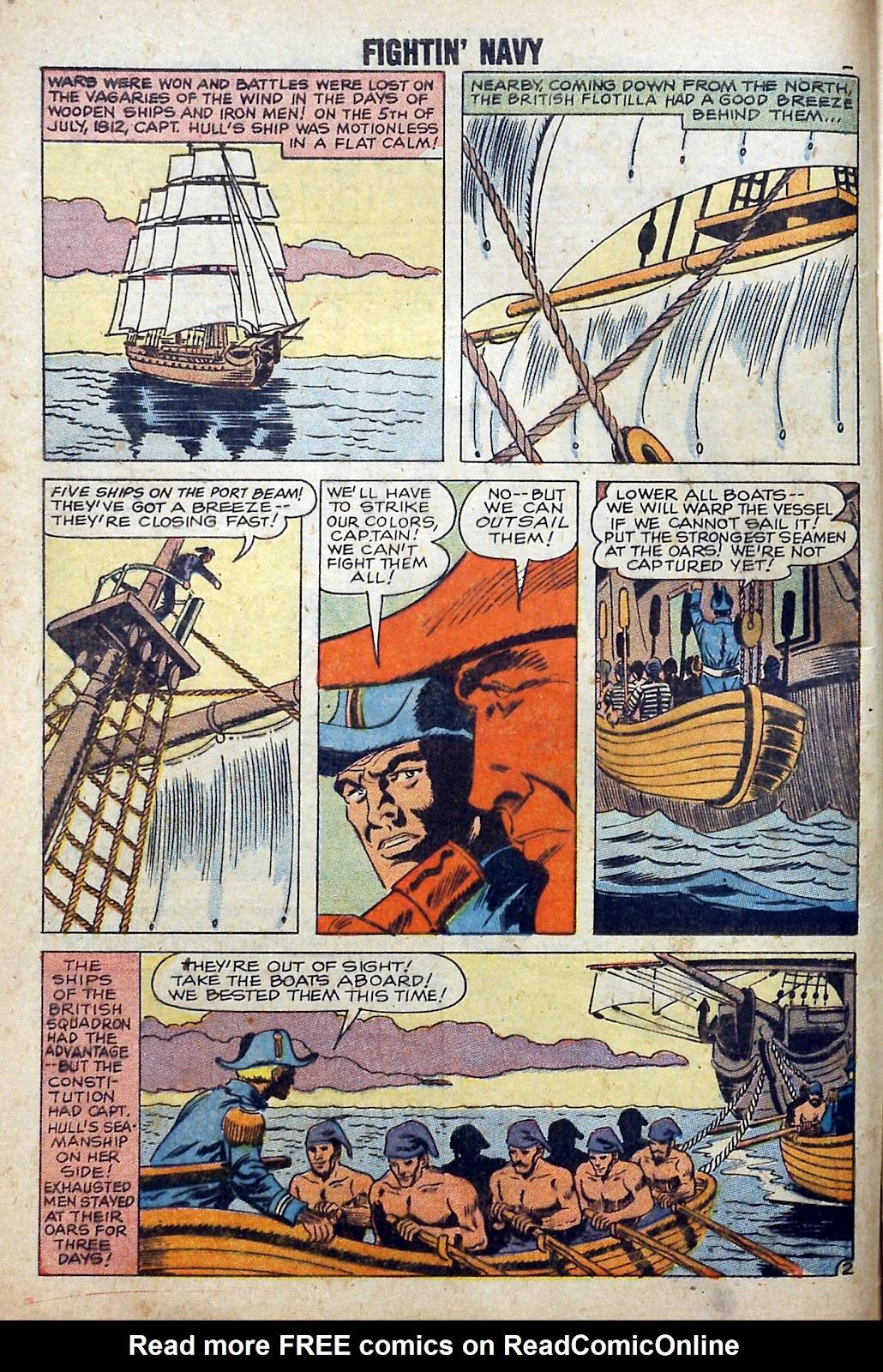 Read online Fightin' Navy comic -  Issue #84 - 4