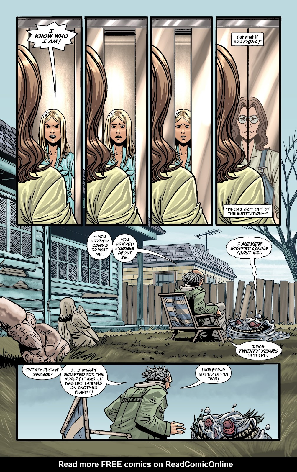 Read online The Girl In The Bay comic -  Issue #3 - 16