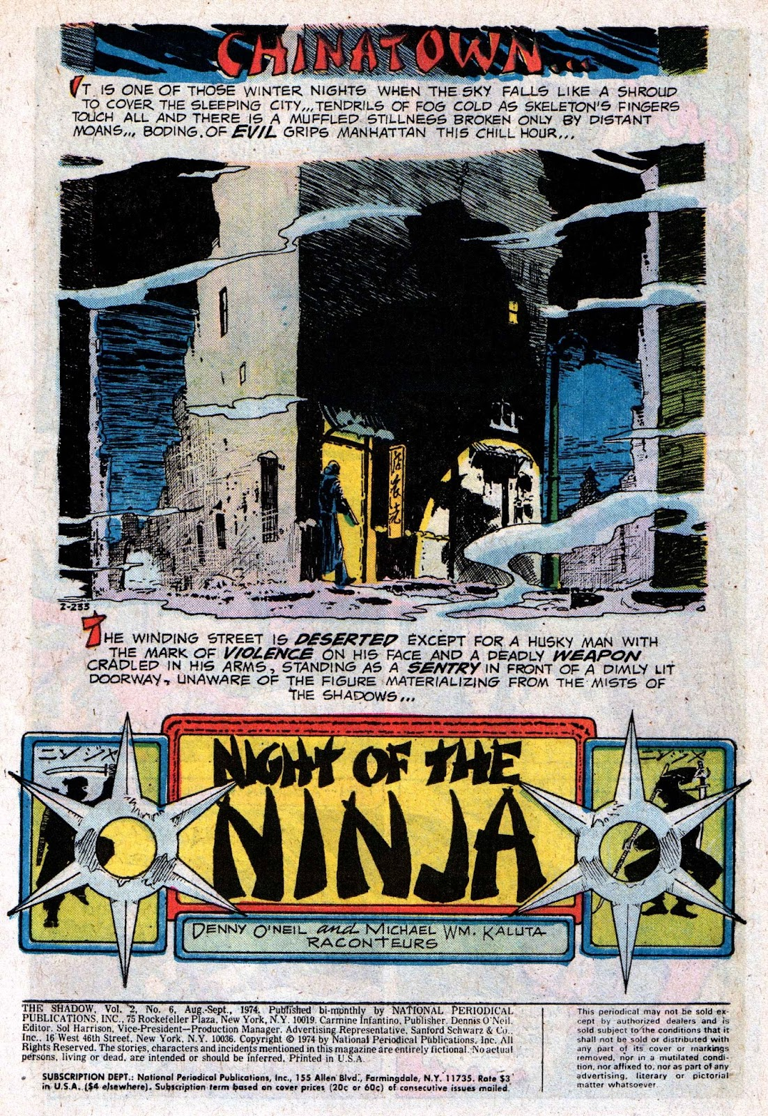 The Shadow (1973) issue 6 - Page 3