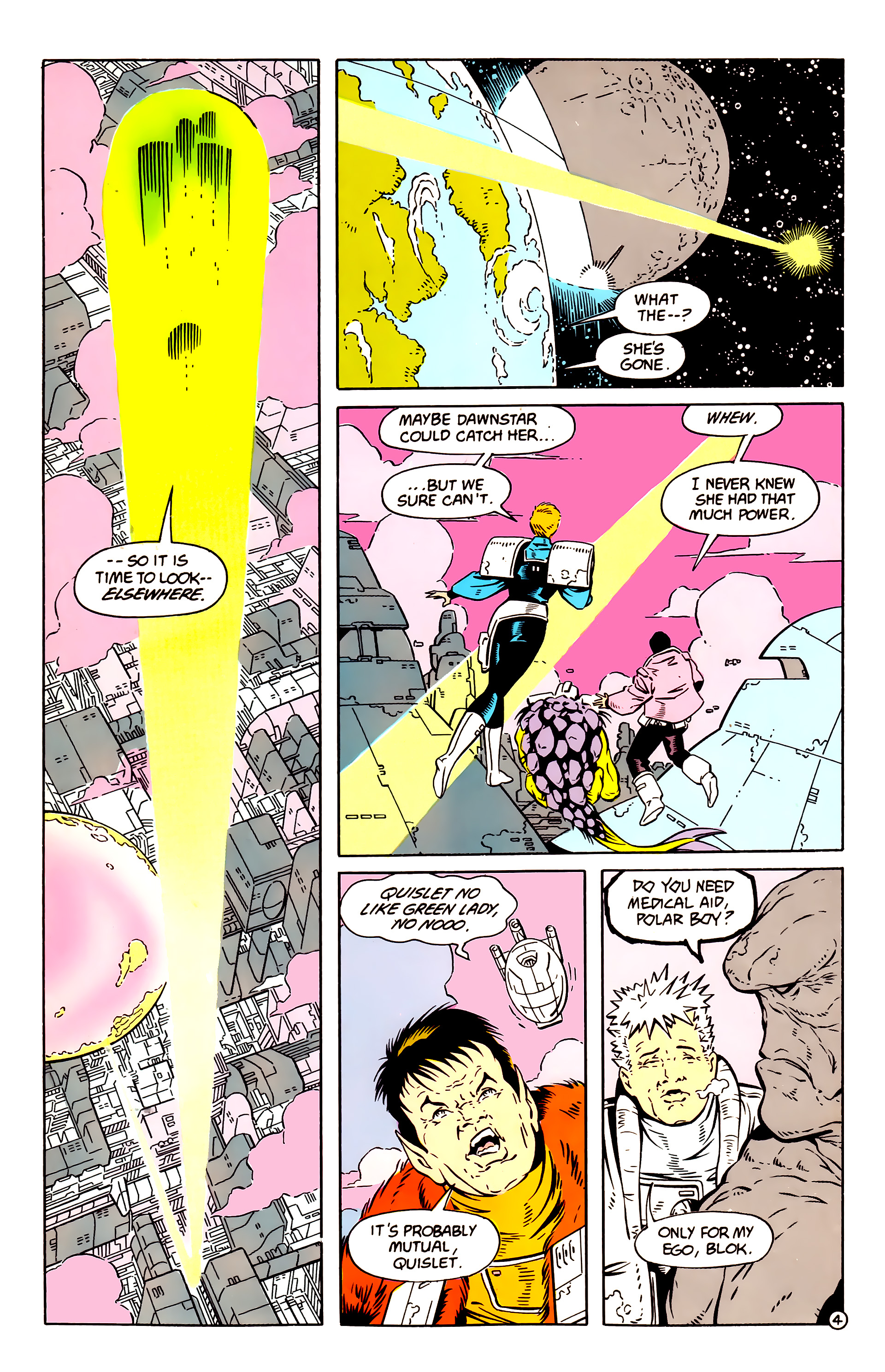 Legion of Super-Heroes (1984) 58 Page 4