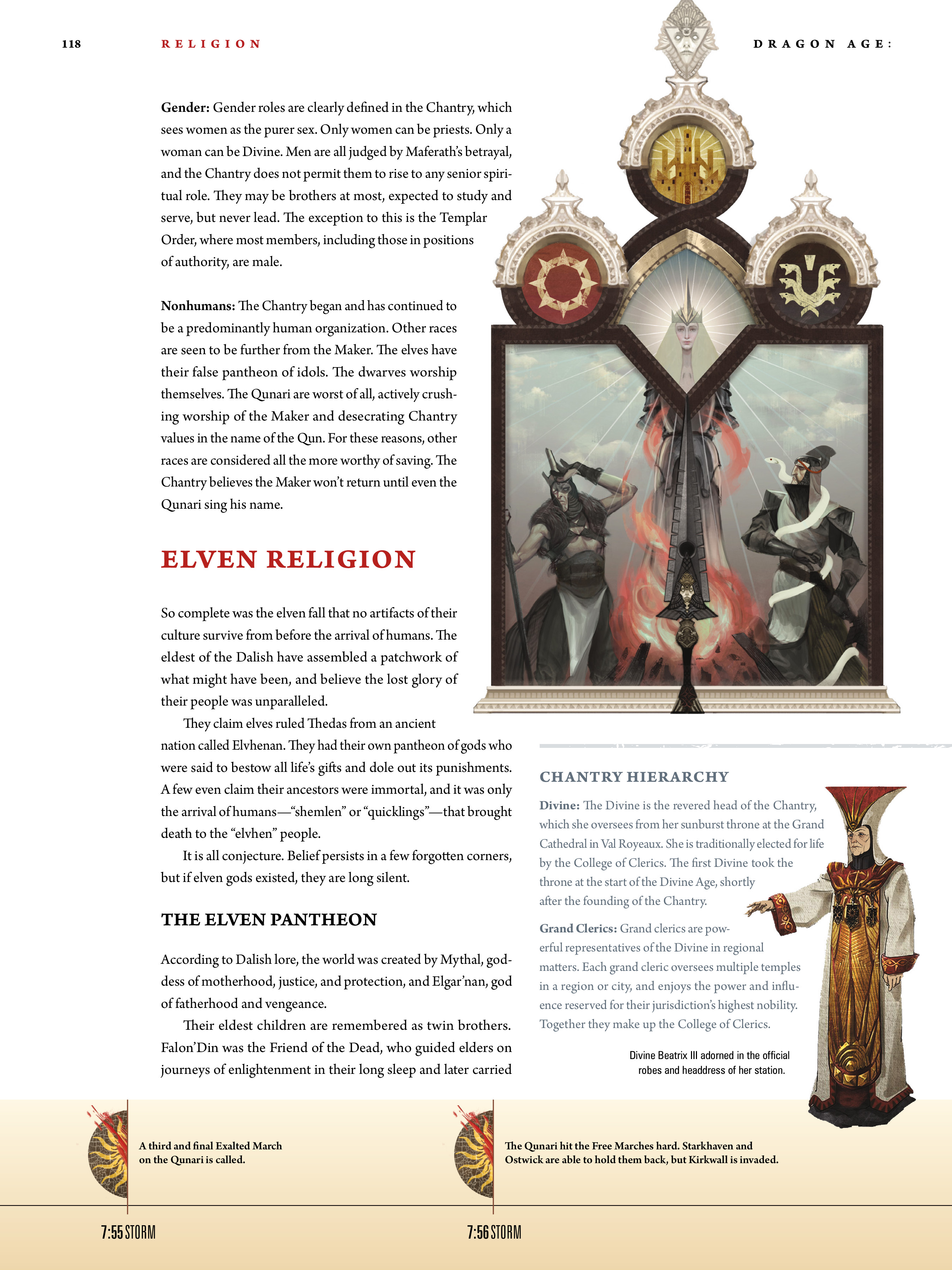 Read online Dragon Age: The World of Thedas comic -  Issue # TPB 1 - 97