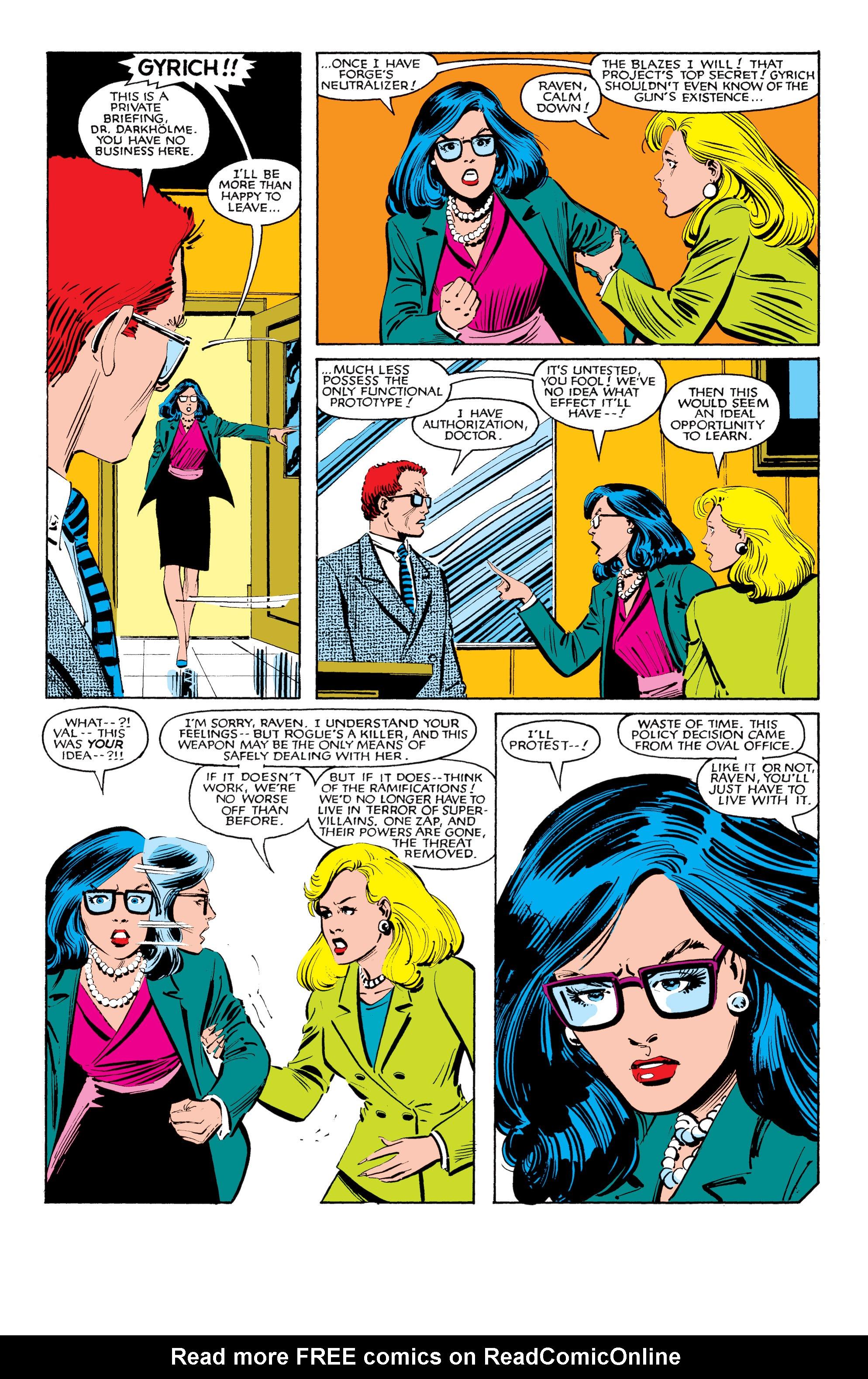 Read online Uncanny X-Men (1963) comic -  Issue #185 - 4
