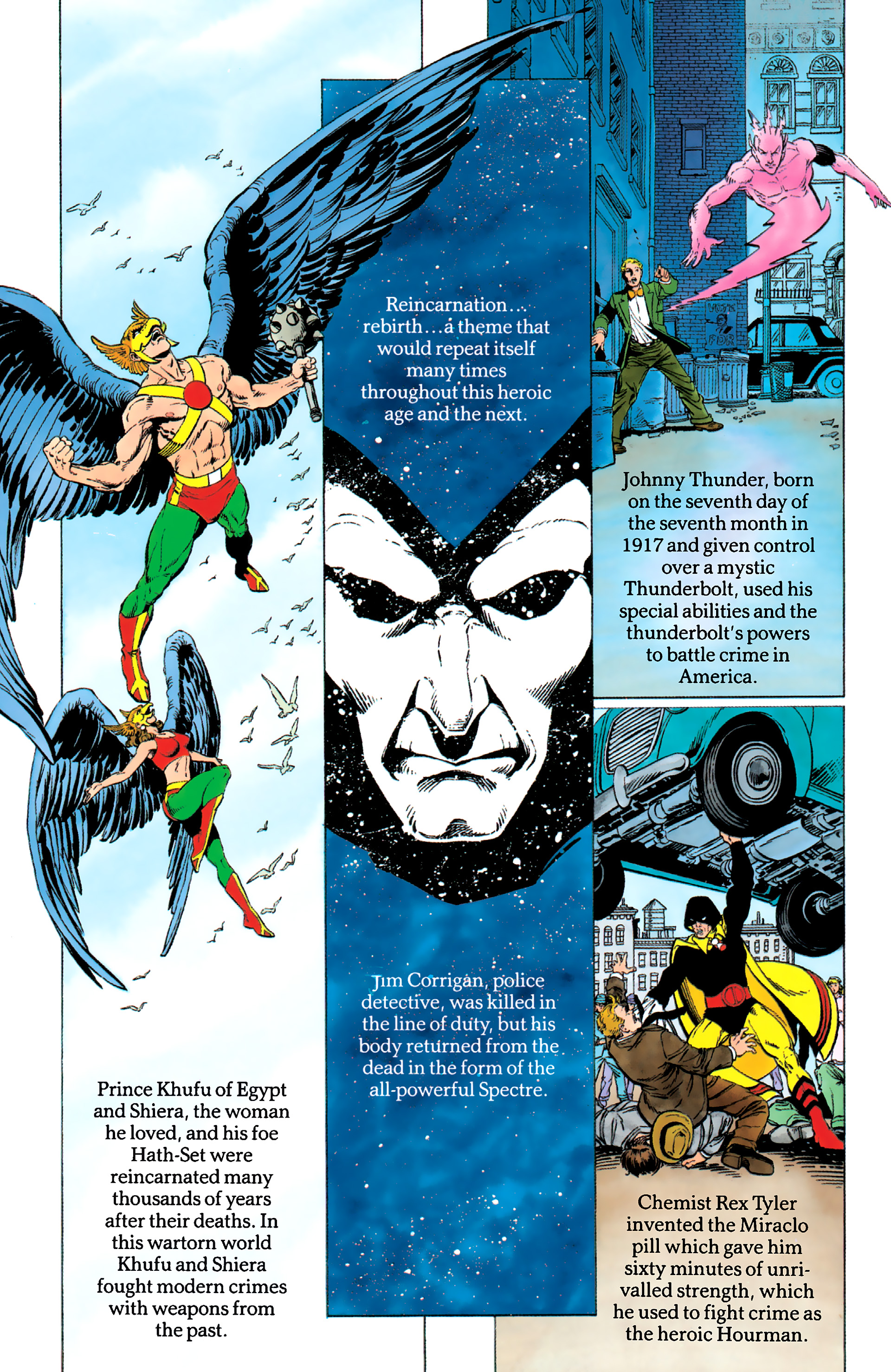 Read online History of the DC Universe comic -  Issue #1 - 36