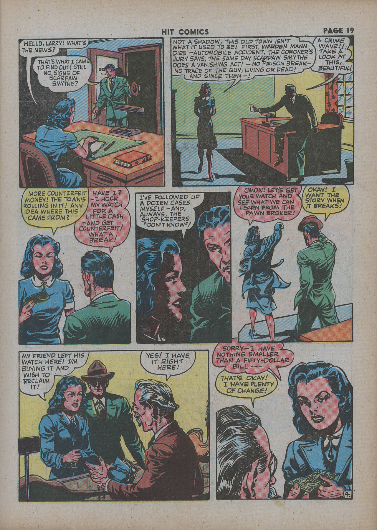Read online Hit Comics comic -  Issue #27 - 21