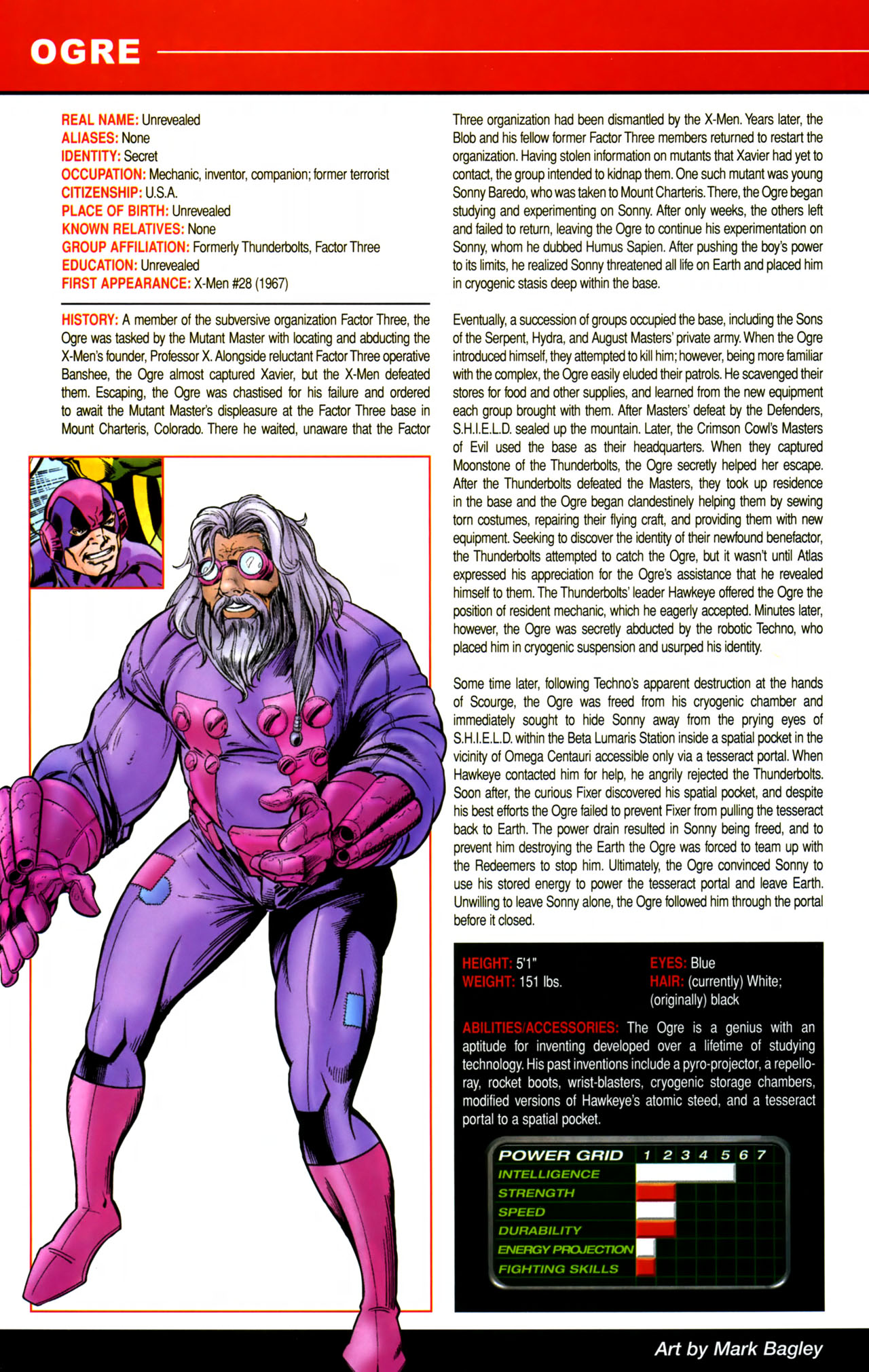 Read online All-New Official Handbook of the Marvel Universe A to Z comic -  Issue #8 - 26