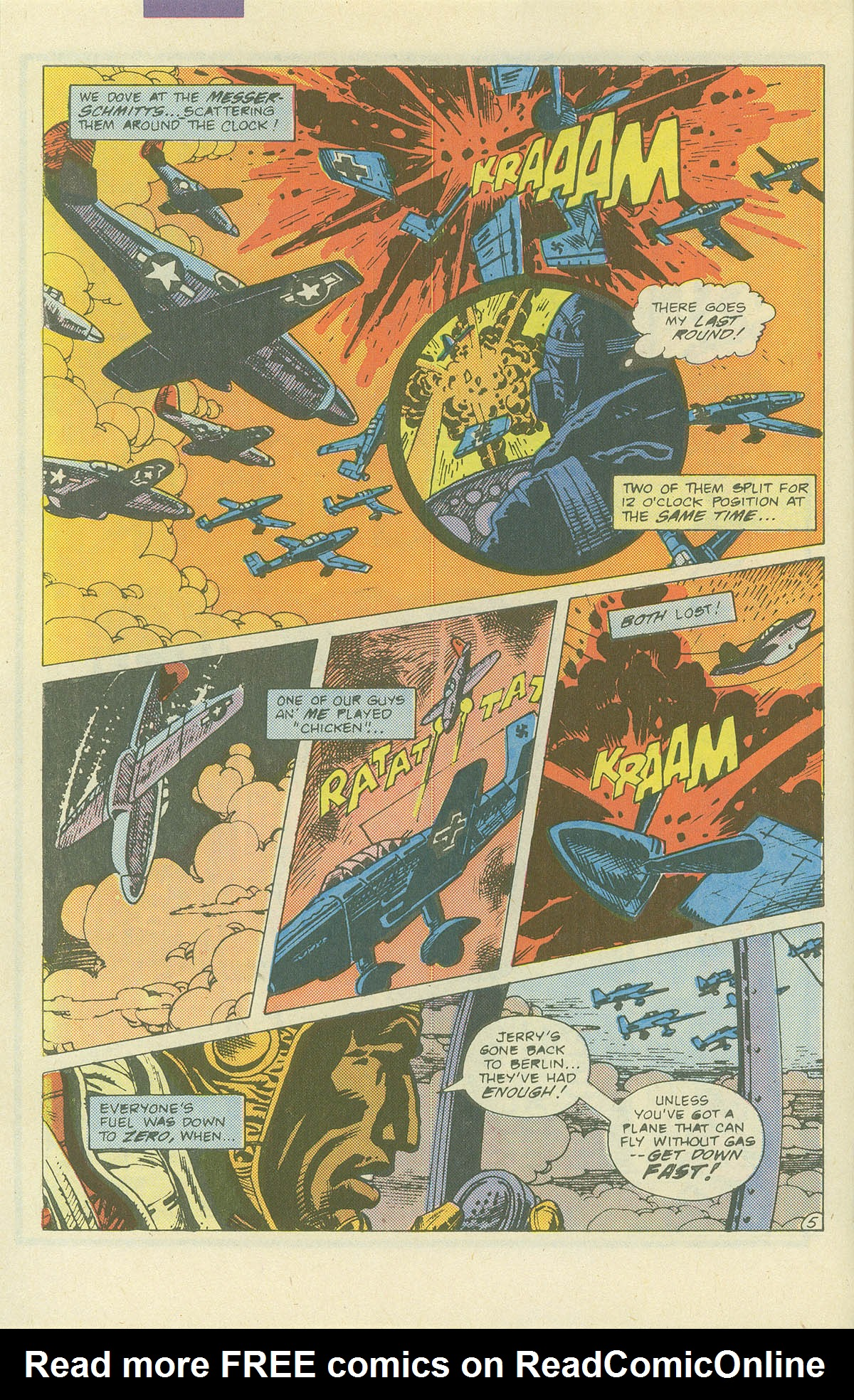 Read online Sgt. Rock comic -  Issue #405 - 7
