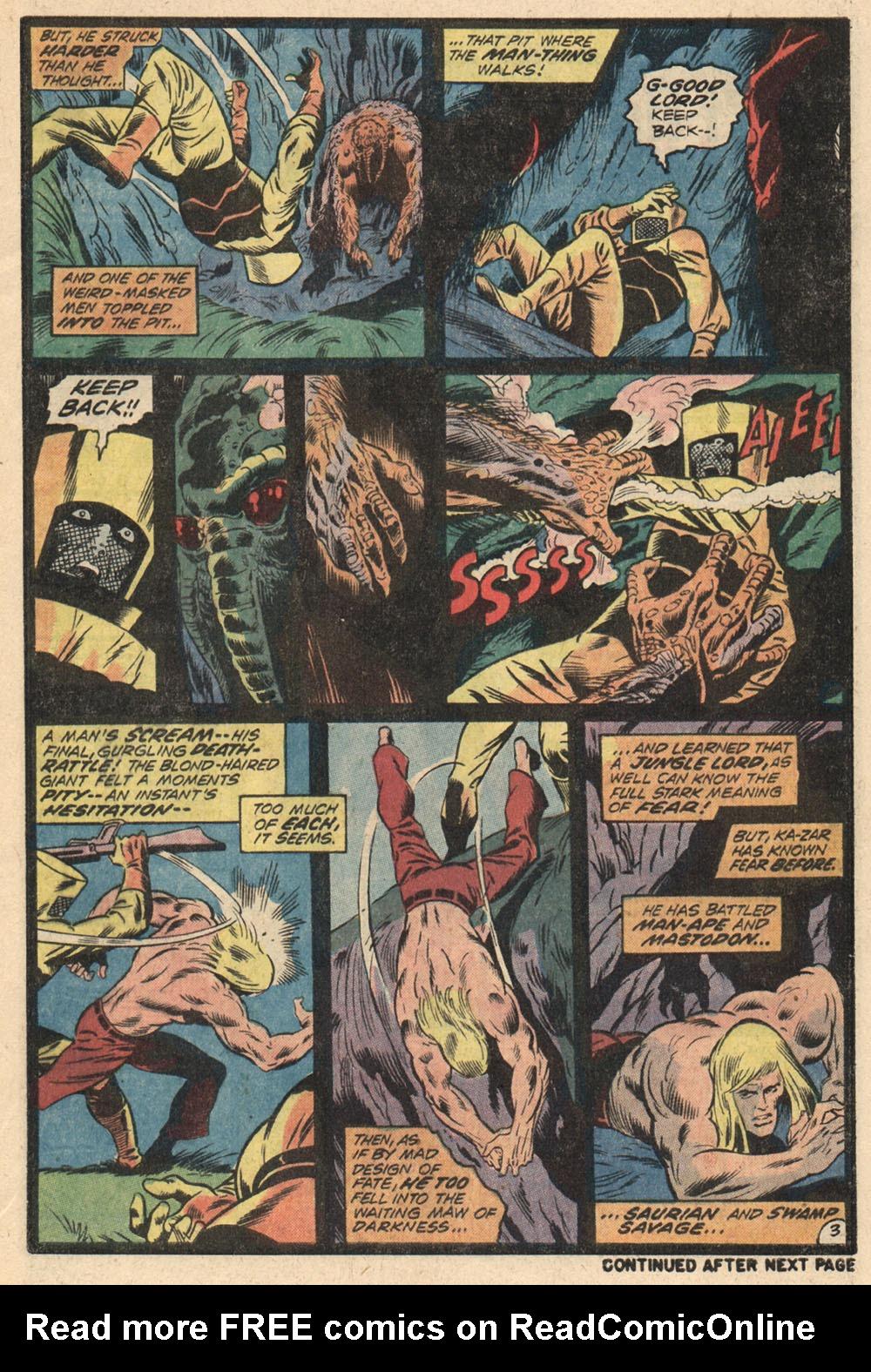 Read online Astonishing Tales (1970) comic -  Issue #13 - 4
