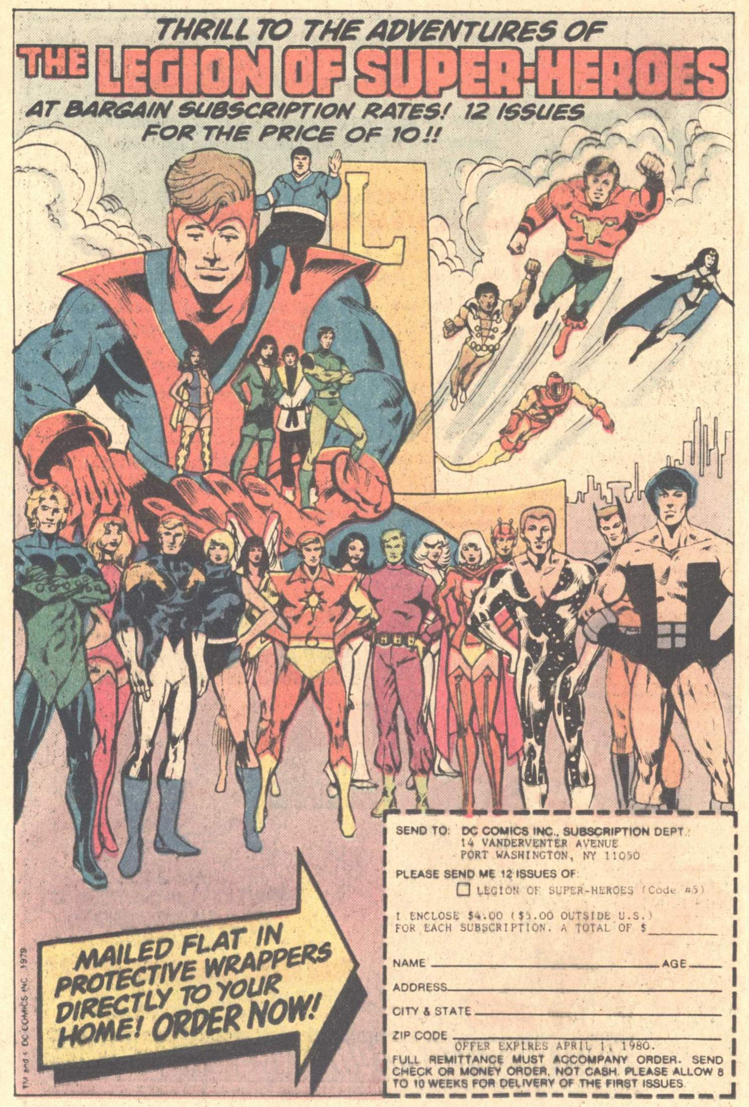 Legion of Super-Heroes (1980) 261 Page 22