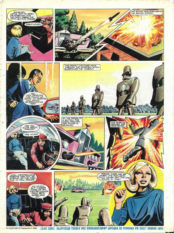Read online TV Century 21 (TV 21) comic -  Issue #33 - 16