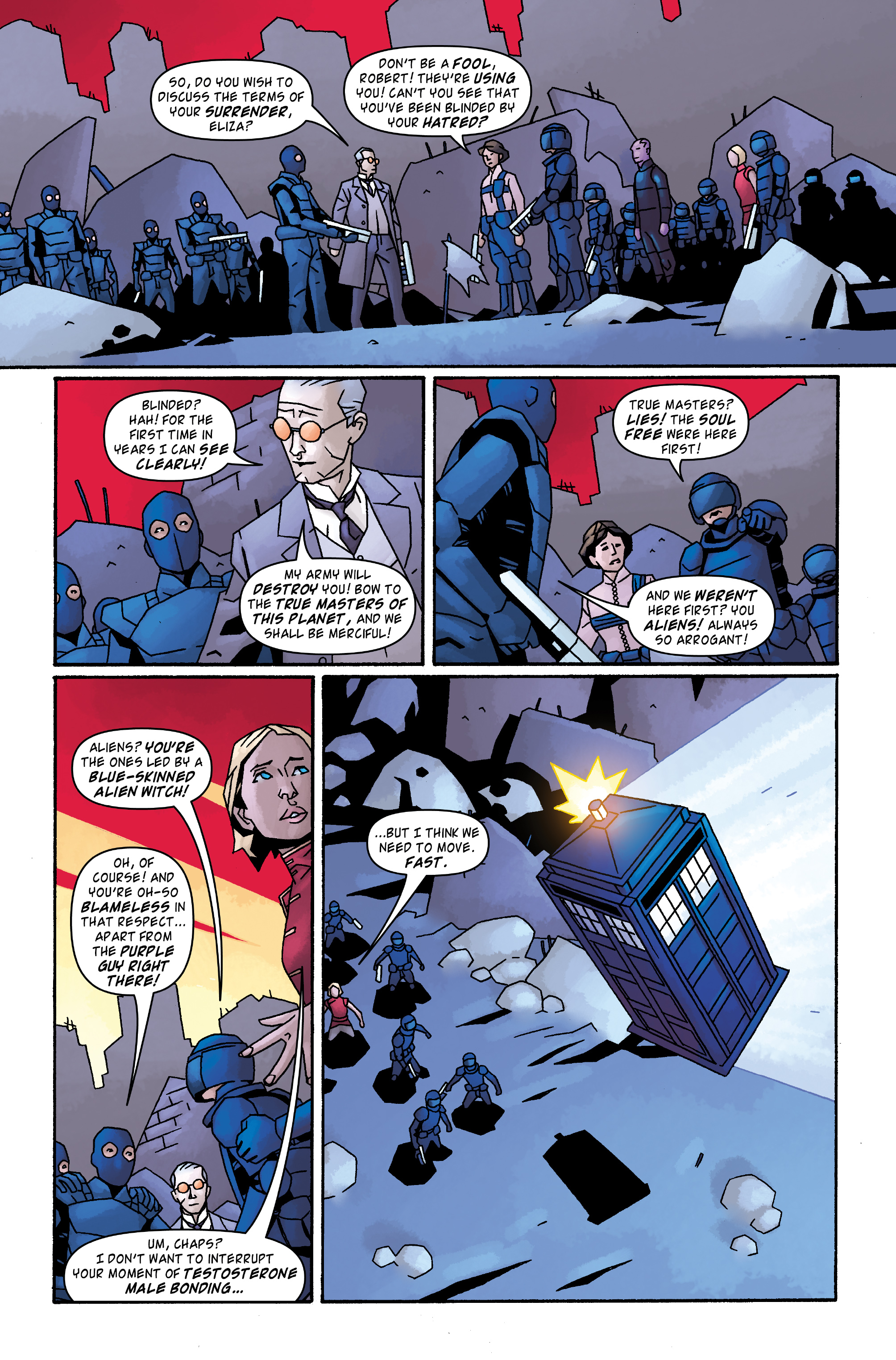 Read online Doctor Who: The Tenth Doctor Archives comic -  Issue #33 - 10
