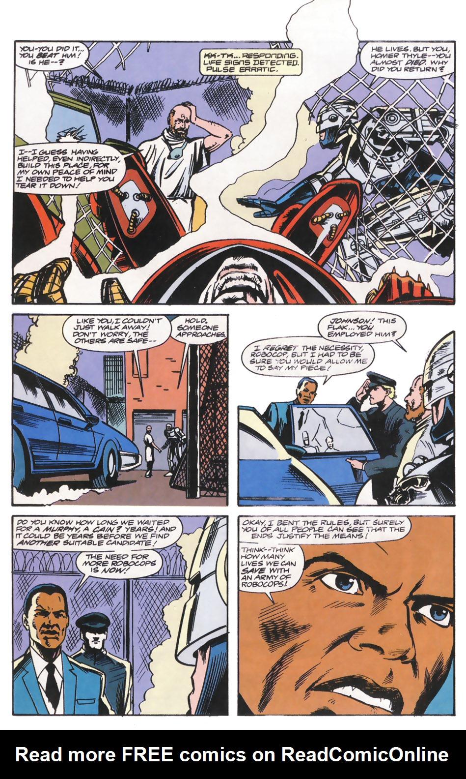 Read online Robocop (1990) comic -  Issue #14 - 21