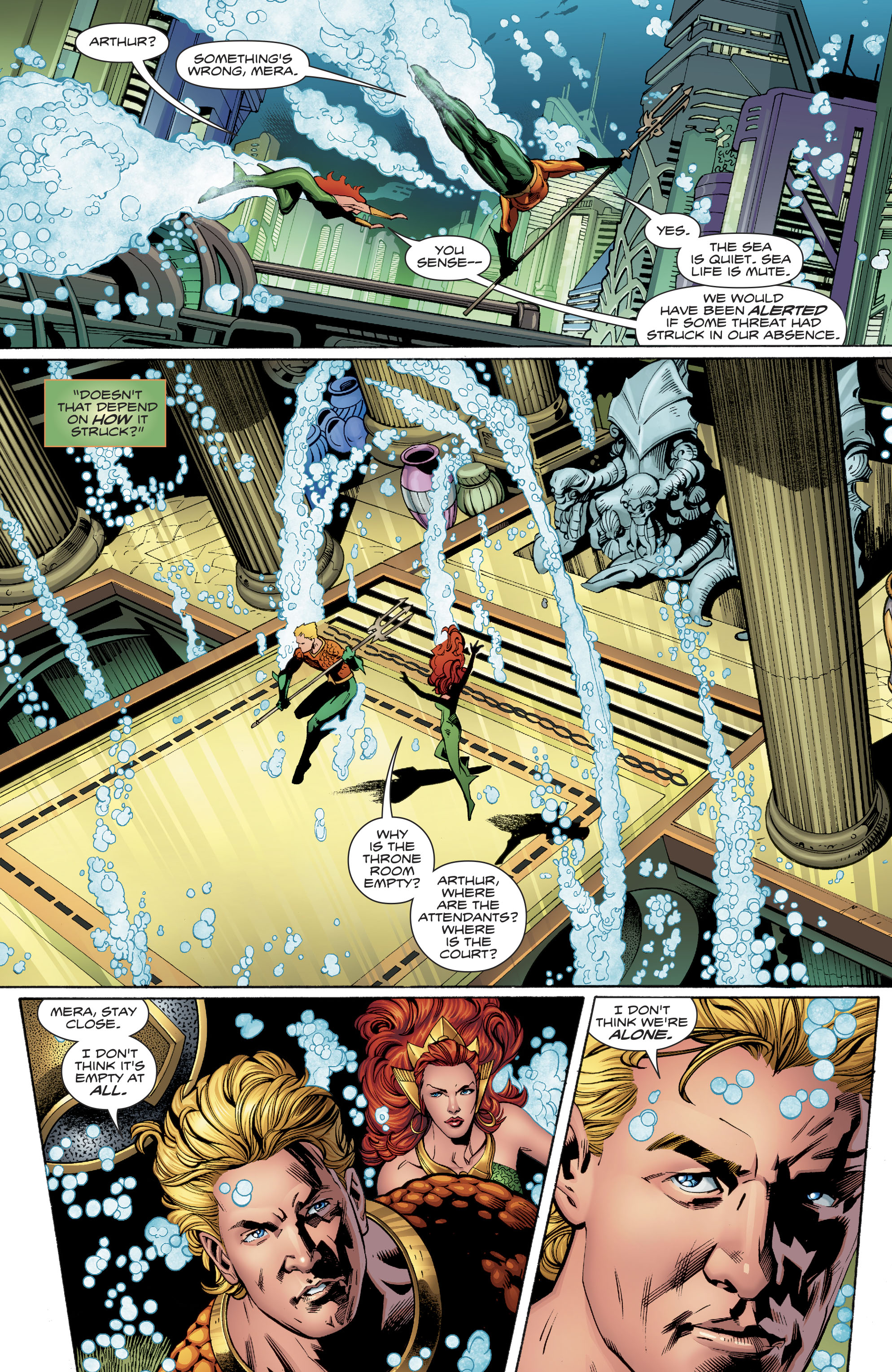Read online Aquaman (2016) comic -  Issue #23 - 6