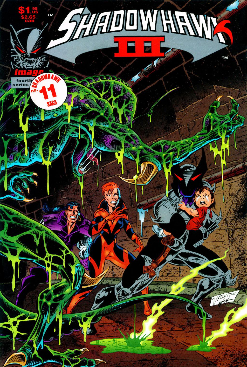 Read online ShadowHawk comic -  Issue #11 - 1