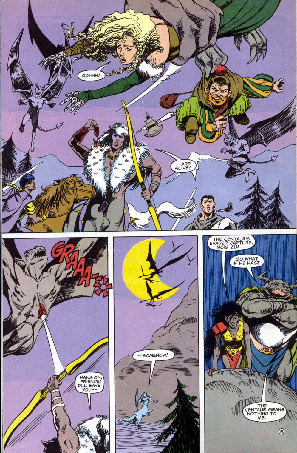 Read online Advanced Dungeons & Dragons comic -  Issue #3 - 19