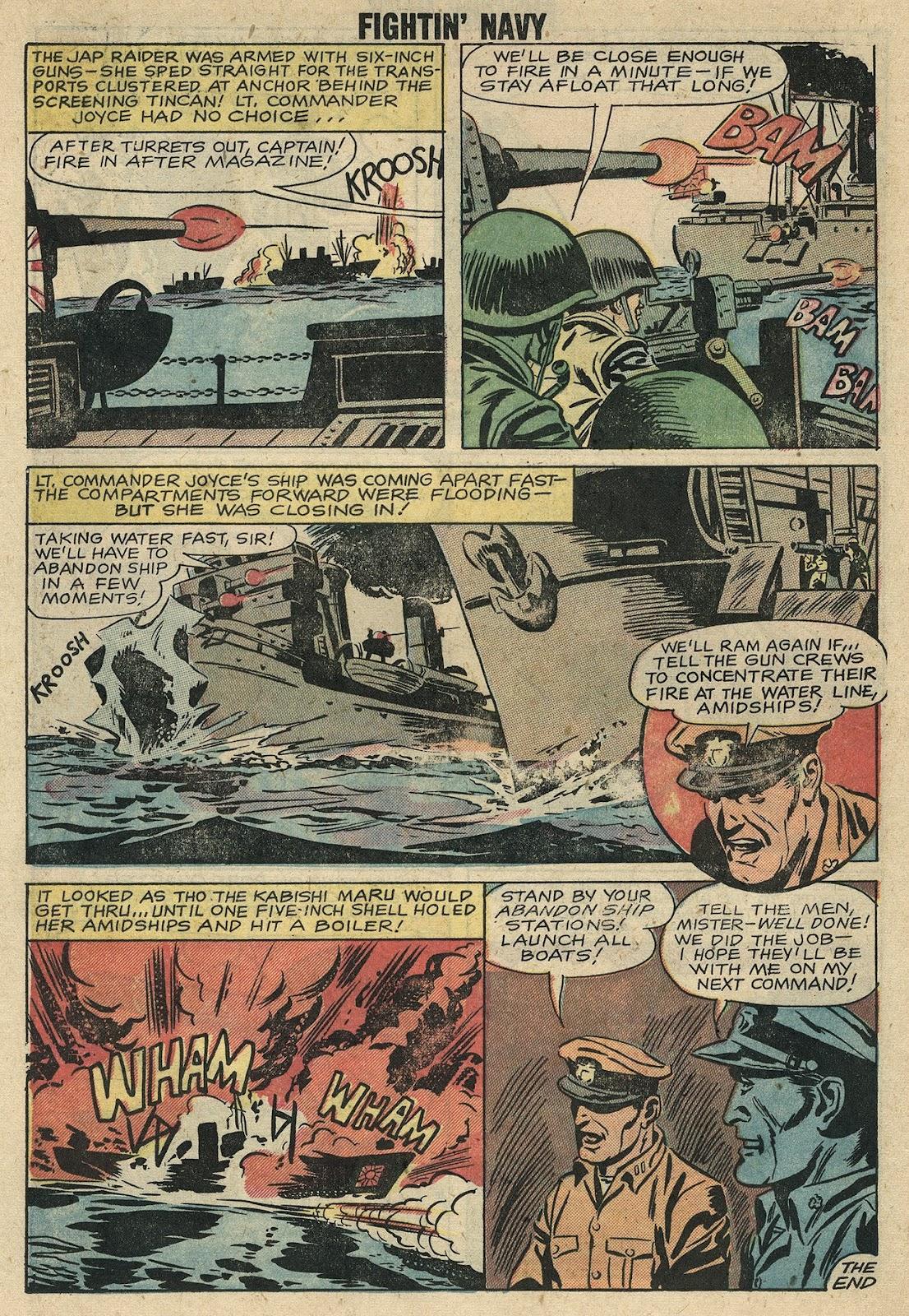 Read online Fightin' Navy comic -  Issue #86 - 13