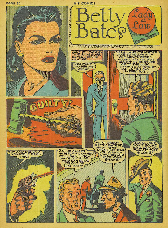 Read online Hit Comics comic -  Issue #13 - 12
