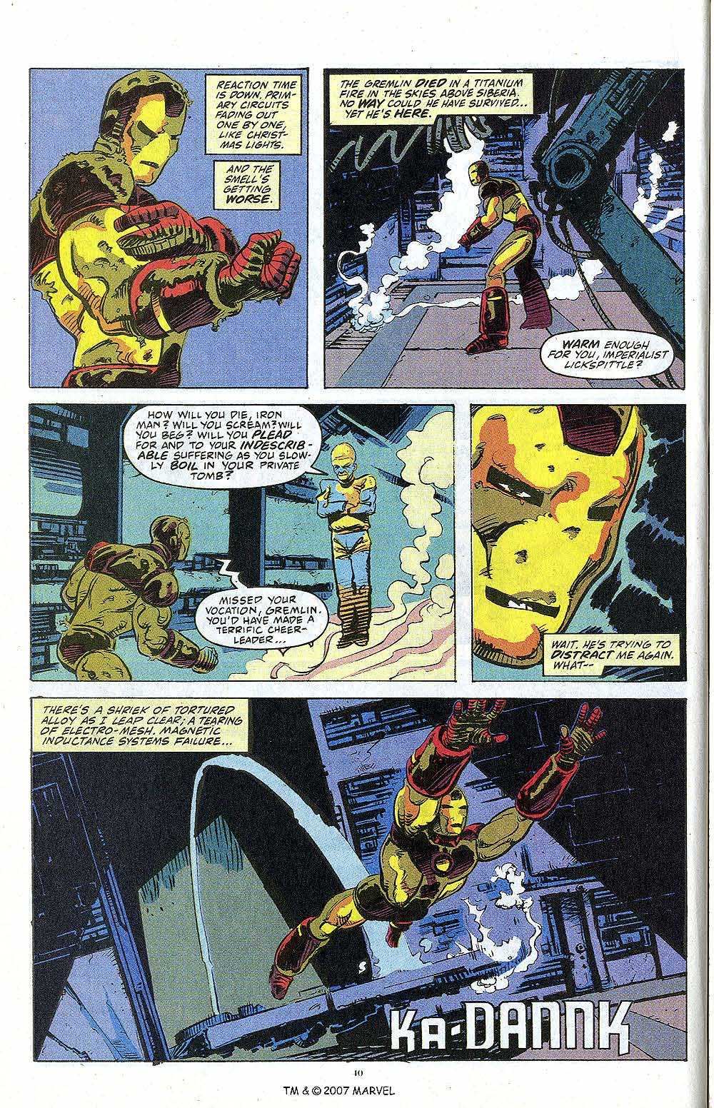 Iron Man Annual issue 13 - Page 42