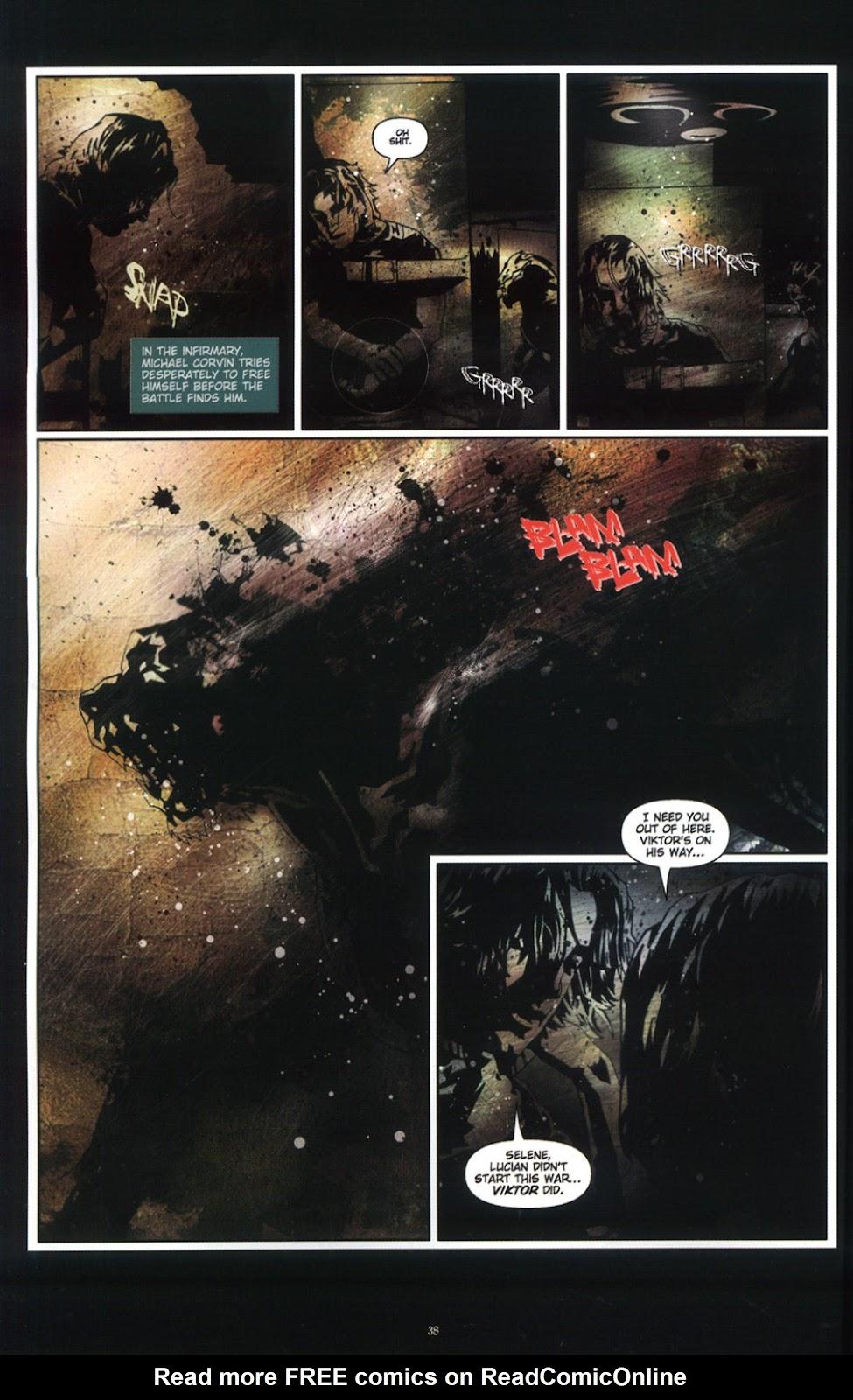 Read online Underworld (2003) comic -  Issue # Full - 39