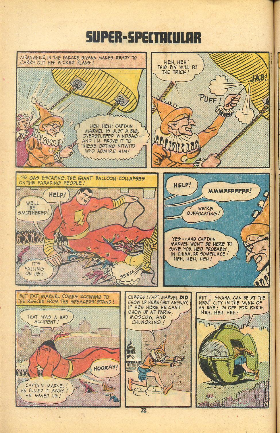Read online Shazam! (1973) comic -  Issue #8 - 72