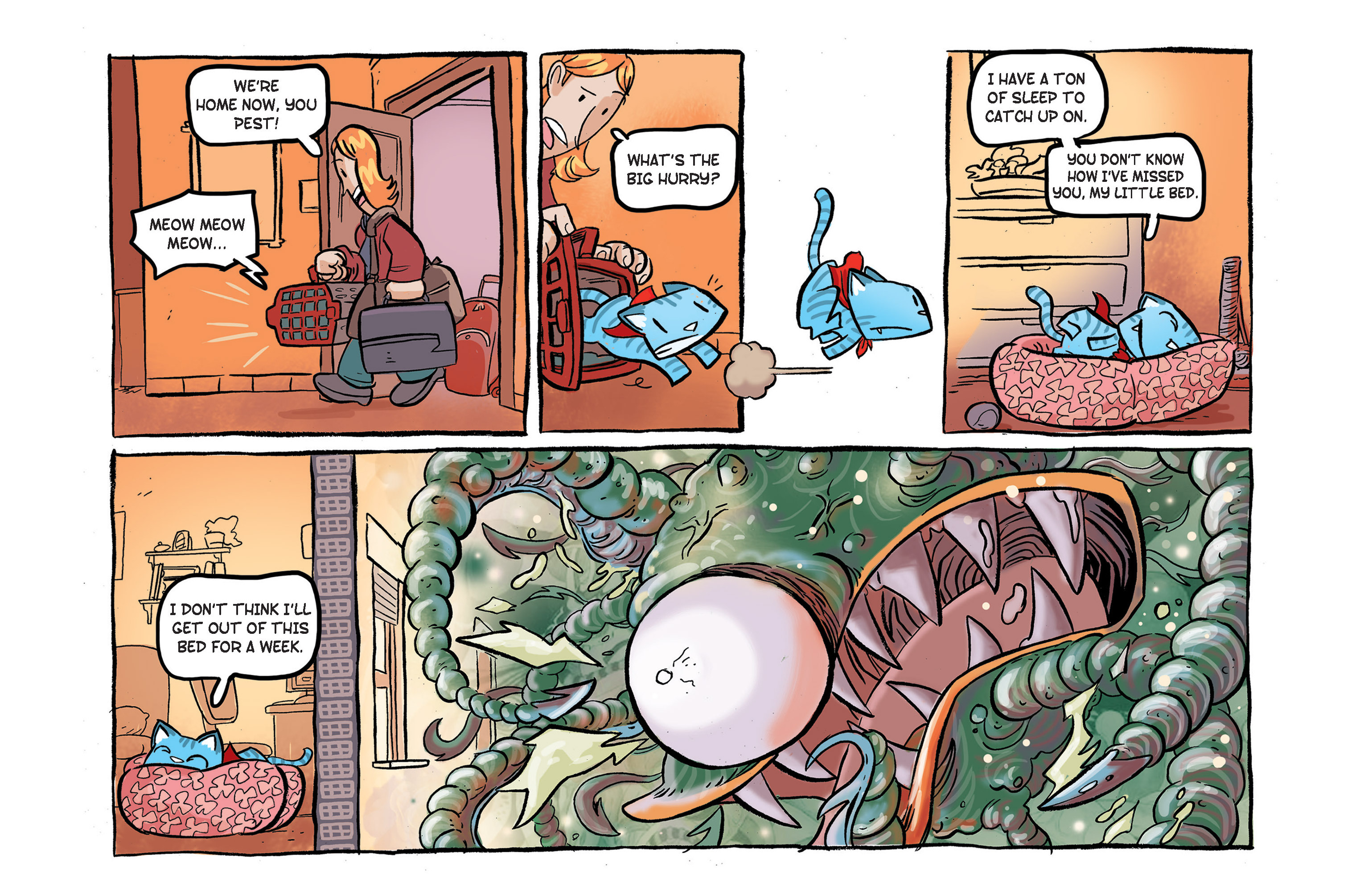 Read online Ultracat comic -  Issue #4 - 27