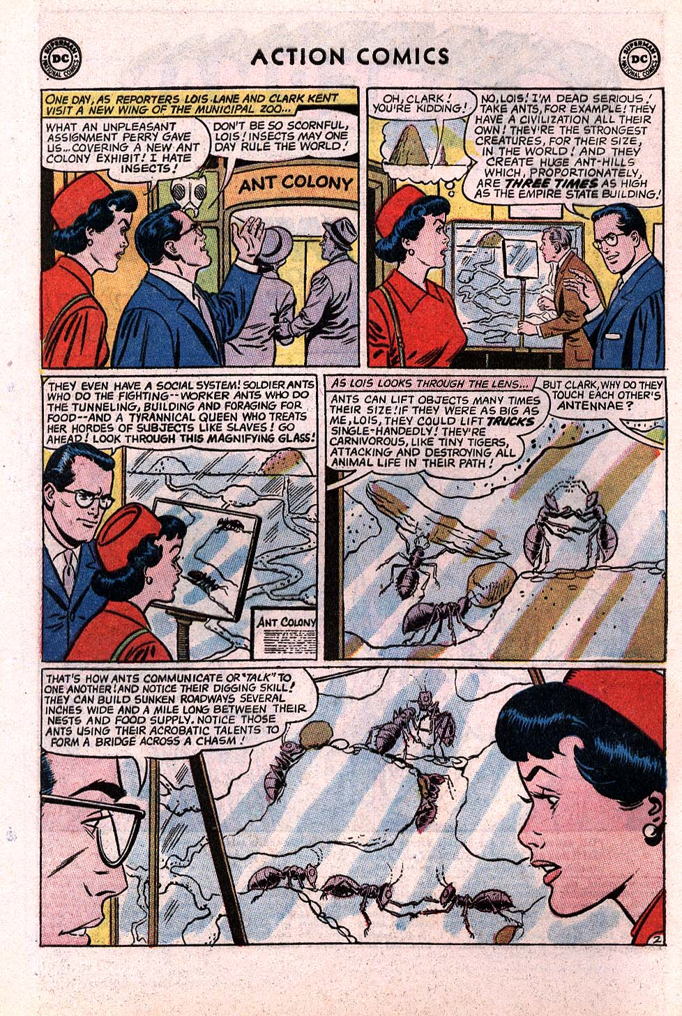 Read online Action Comics (1938) comic -  Issue #296 - 4
