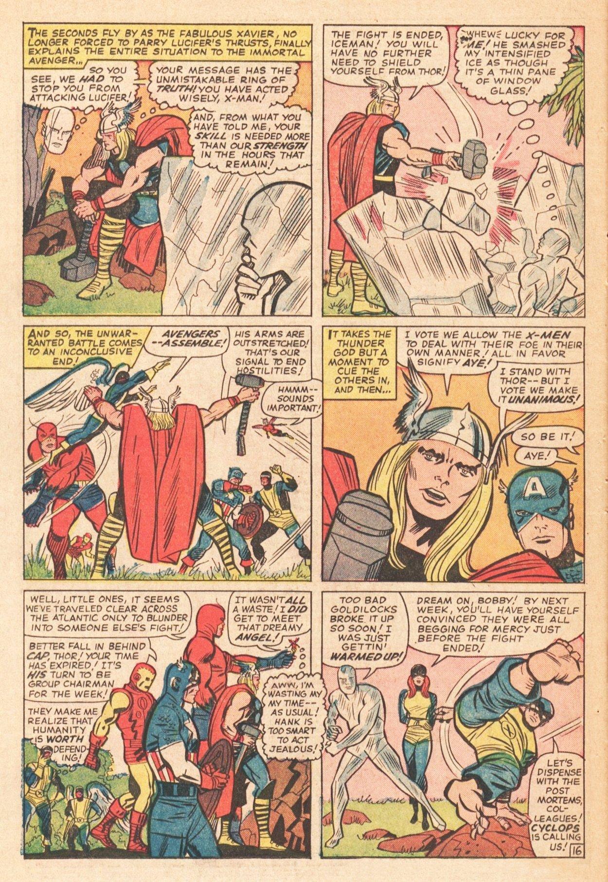 Read online Uncanny X-Men (1963) comic -  Issue # _Annual 1 - 21