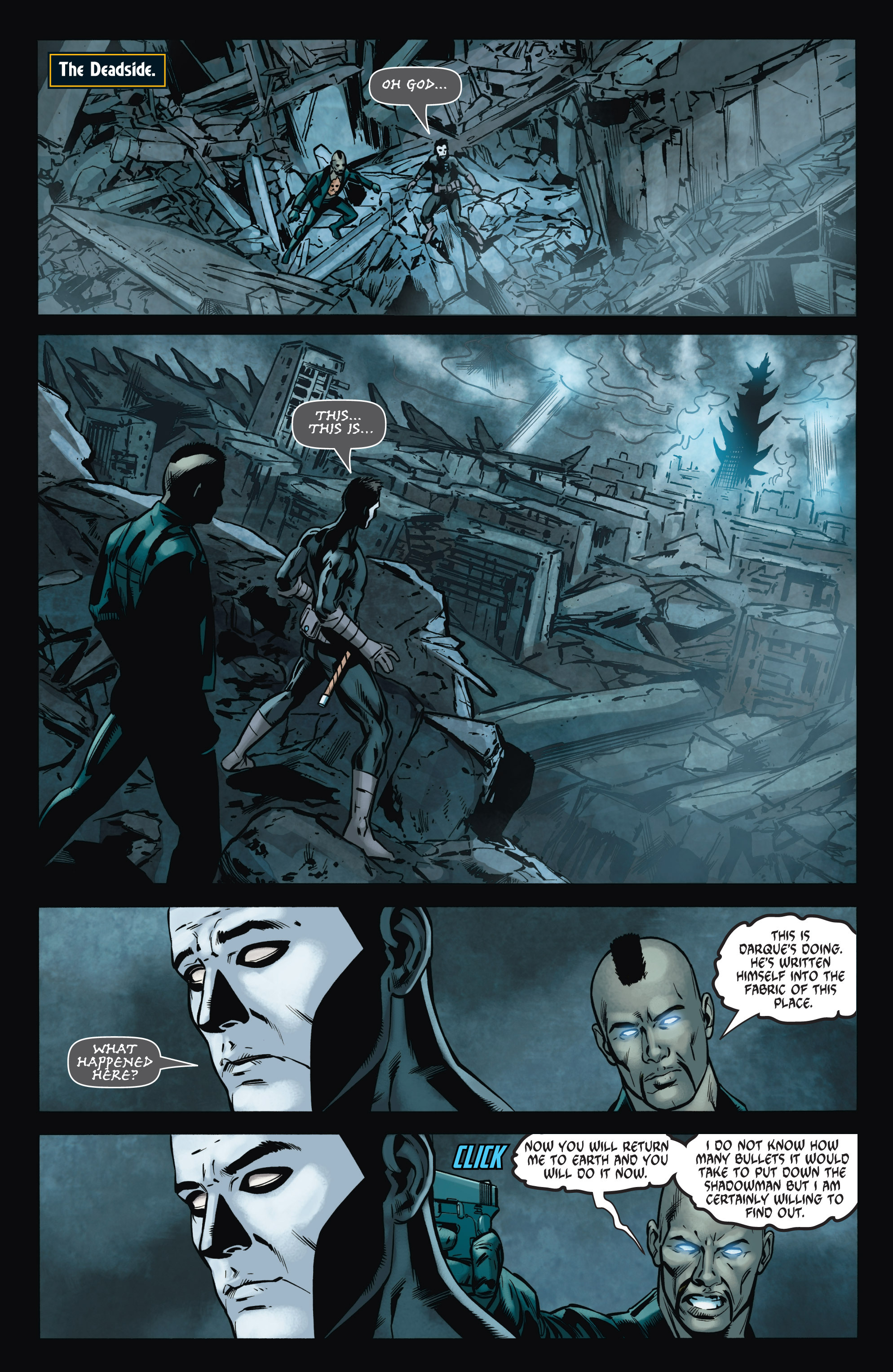 Read online Shadowman (2012) comic -  Issue #8 - 16