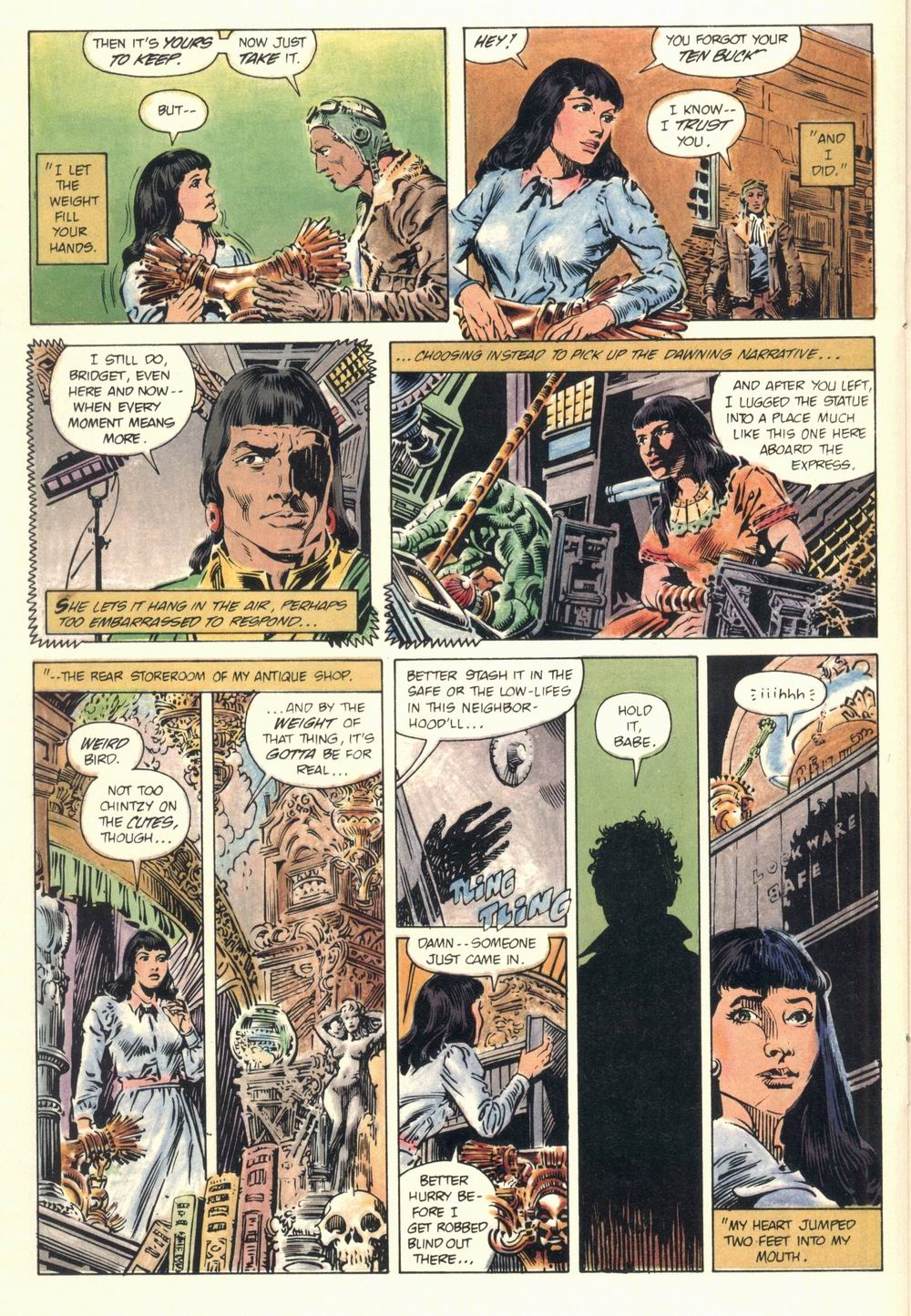 Read online Aztec Ace comic -  Issue #1 - 28