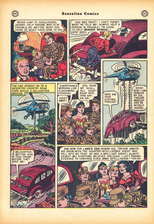 Read online Sensation (Mystery) Comics comic -  Issue #78 - 10