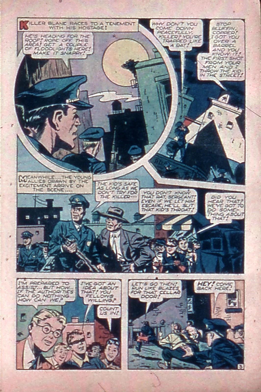 Read online Mystic Comics (1944) comic -  Issue #4 - 5