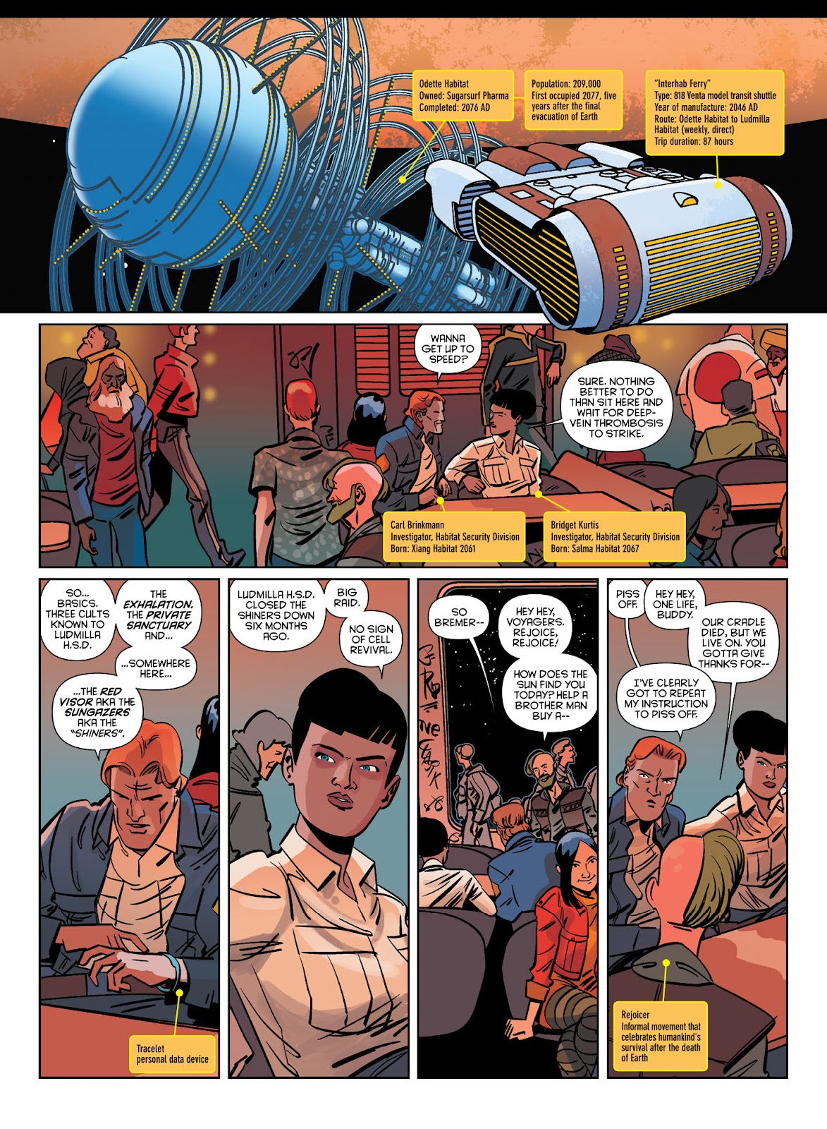 Read online Brink comic -  Issue # TPB 1 - 16