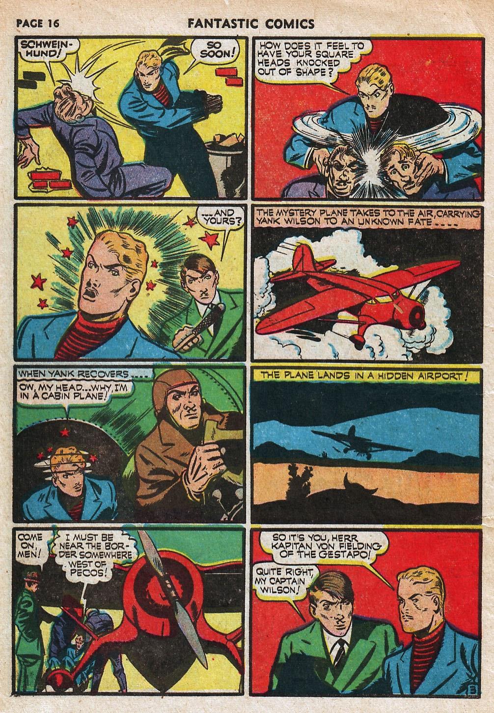 Read online Fantastic Comics comic -  Issue #18 - 18
