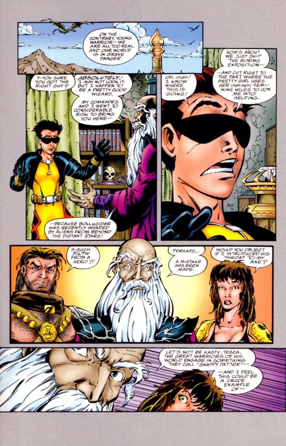 Read online Randy O'Donnell is The M@N comic -  Issue #1 - 15