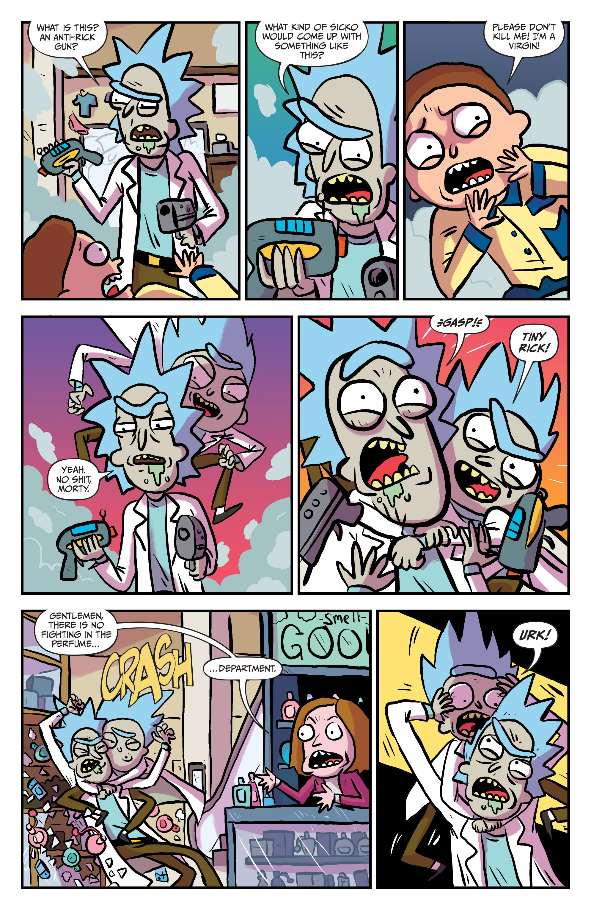 Read online Rick and Morty comic -  Issue #25 - 11