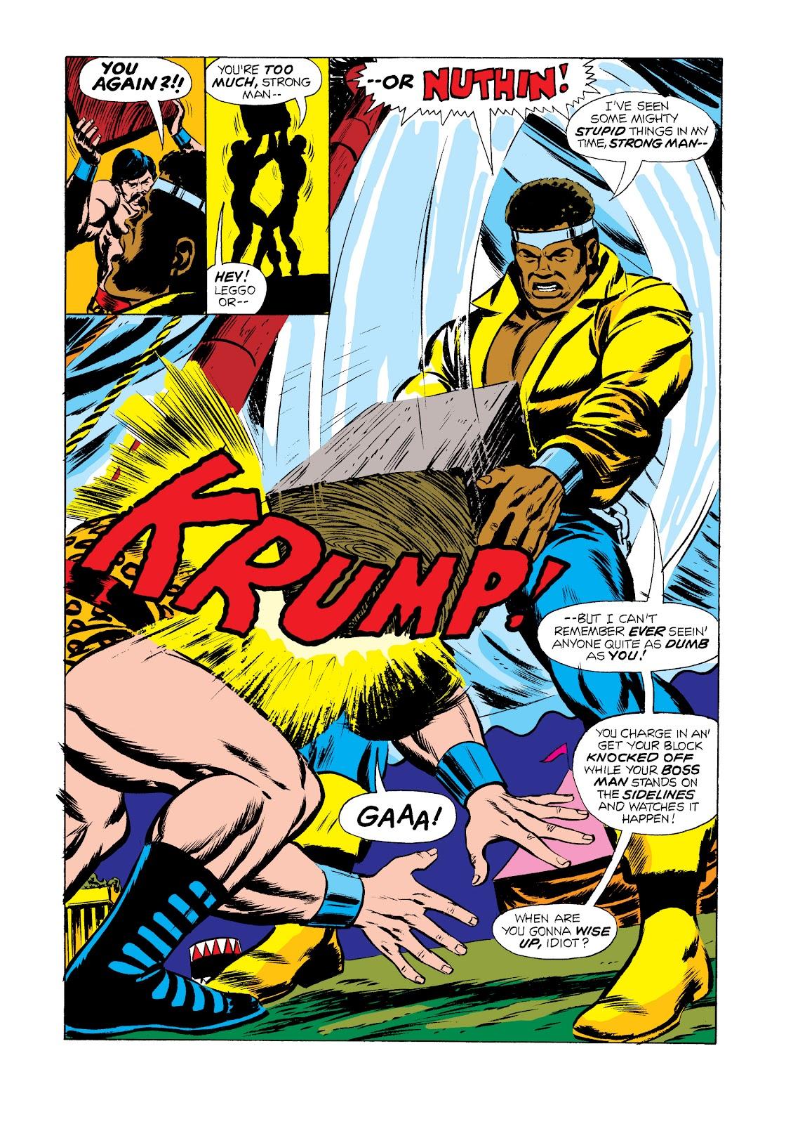 Read online Marvel Masterworks: Luke Cage, Power Man comic -  Issue # TPB 2 (Part 2) - 77
