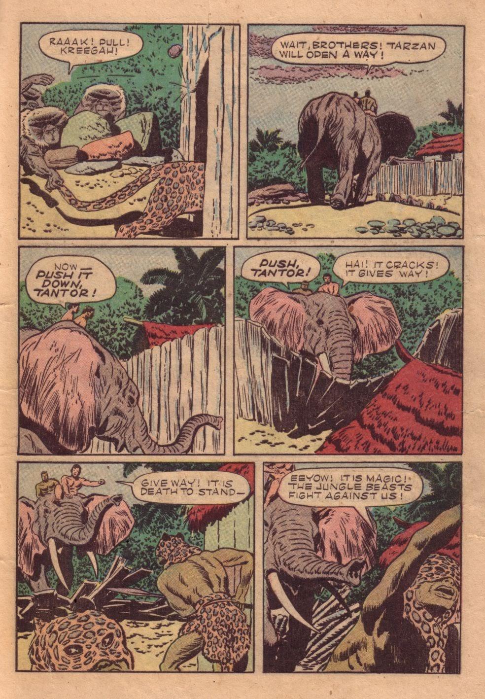 Tarzan (1948) issue 40 - Page 37