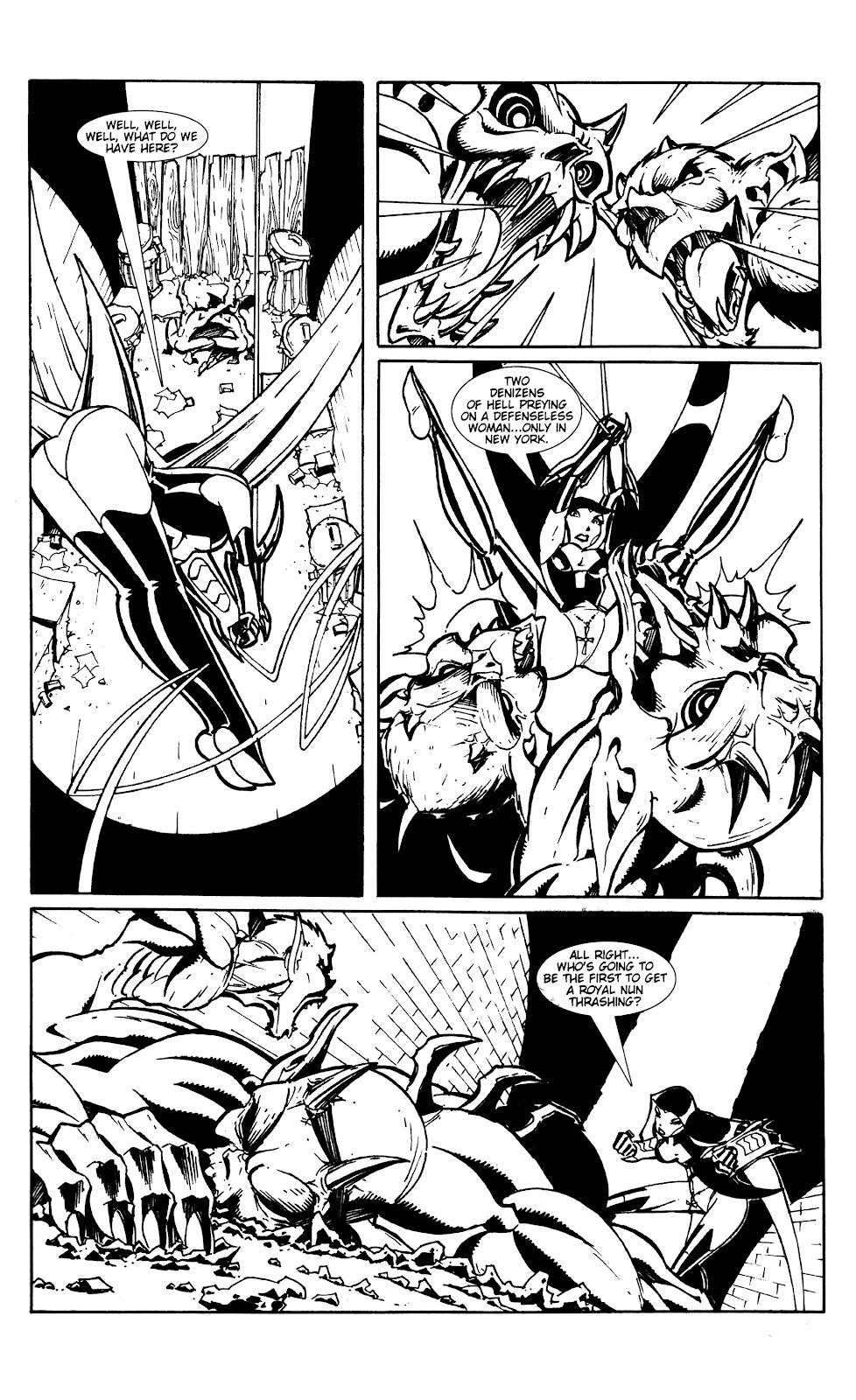 Warrior Nun Areala:  Dangerous Game Issue #1 #1 - English 13