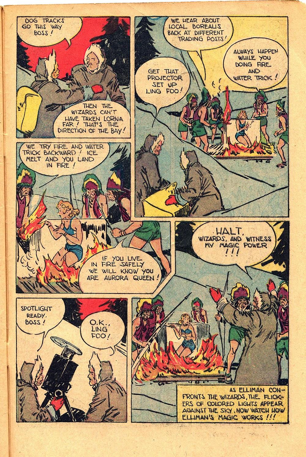 Read online Super-Magician Comics comic -  Issue #55 - 47
