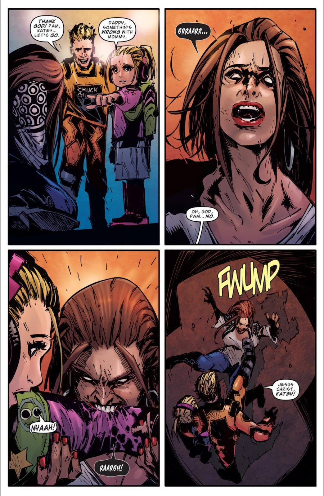 Read online Dead Rising: Road to Fortune comic -  Issue #3 - 21