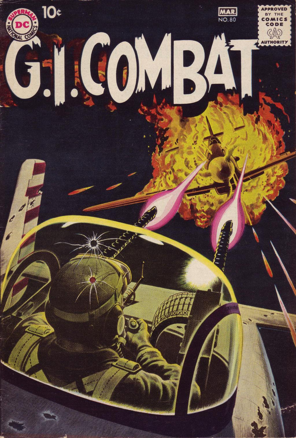 G.I. Combat (1952) 80 Page 1