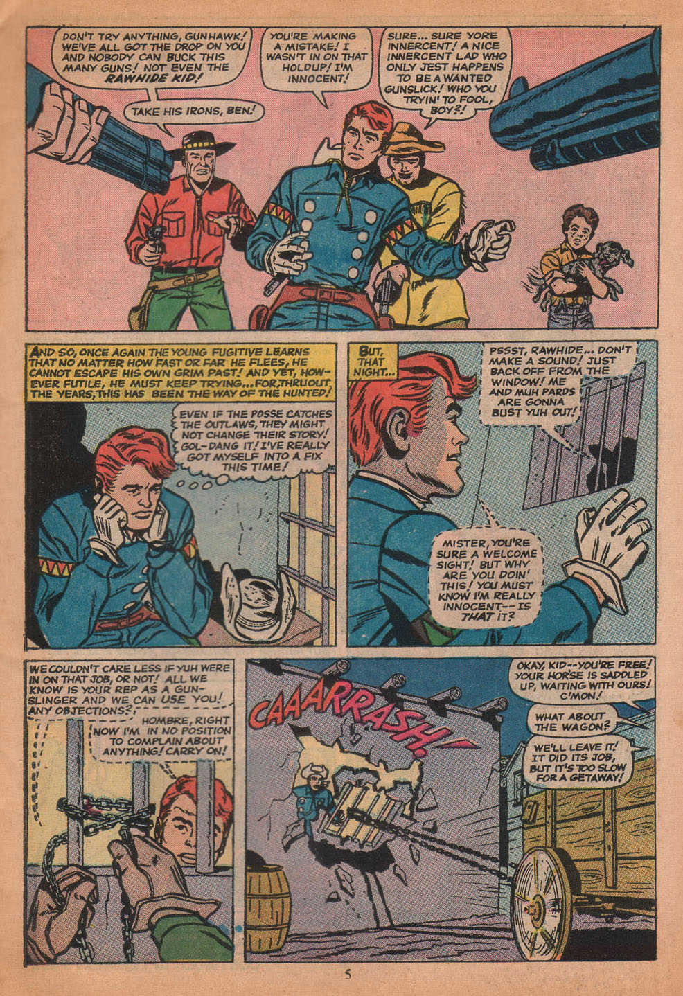 The Rawhide Kid (1955) issue 116 - Page 7