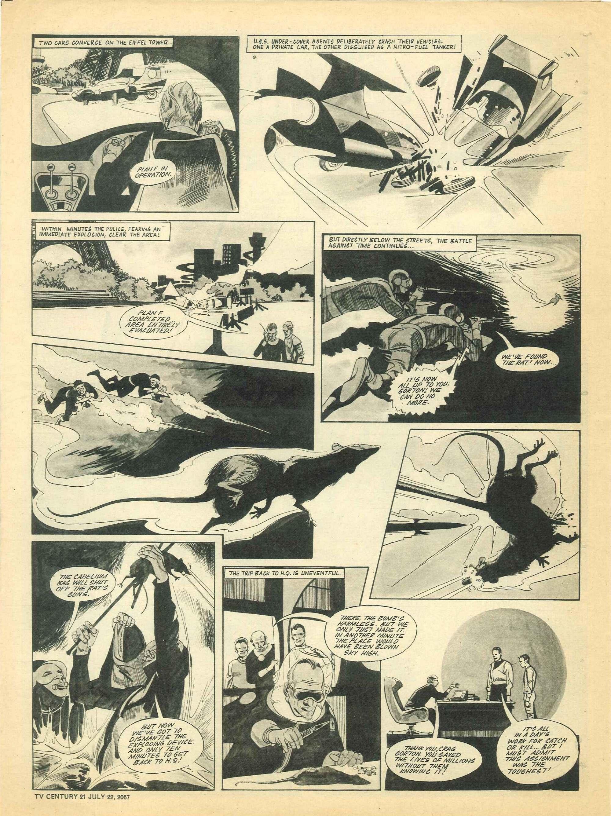 Read online TV Century 21 (TV 21) comic -  Issue #131 - 14