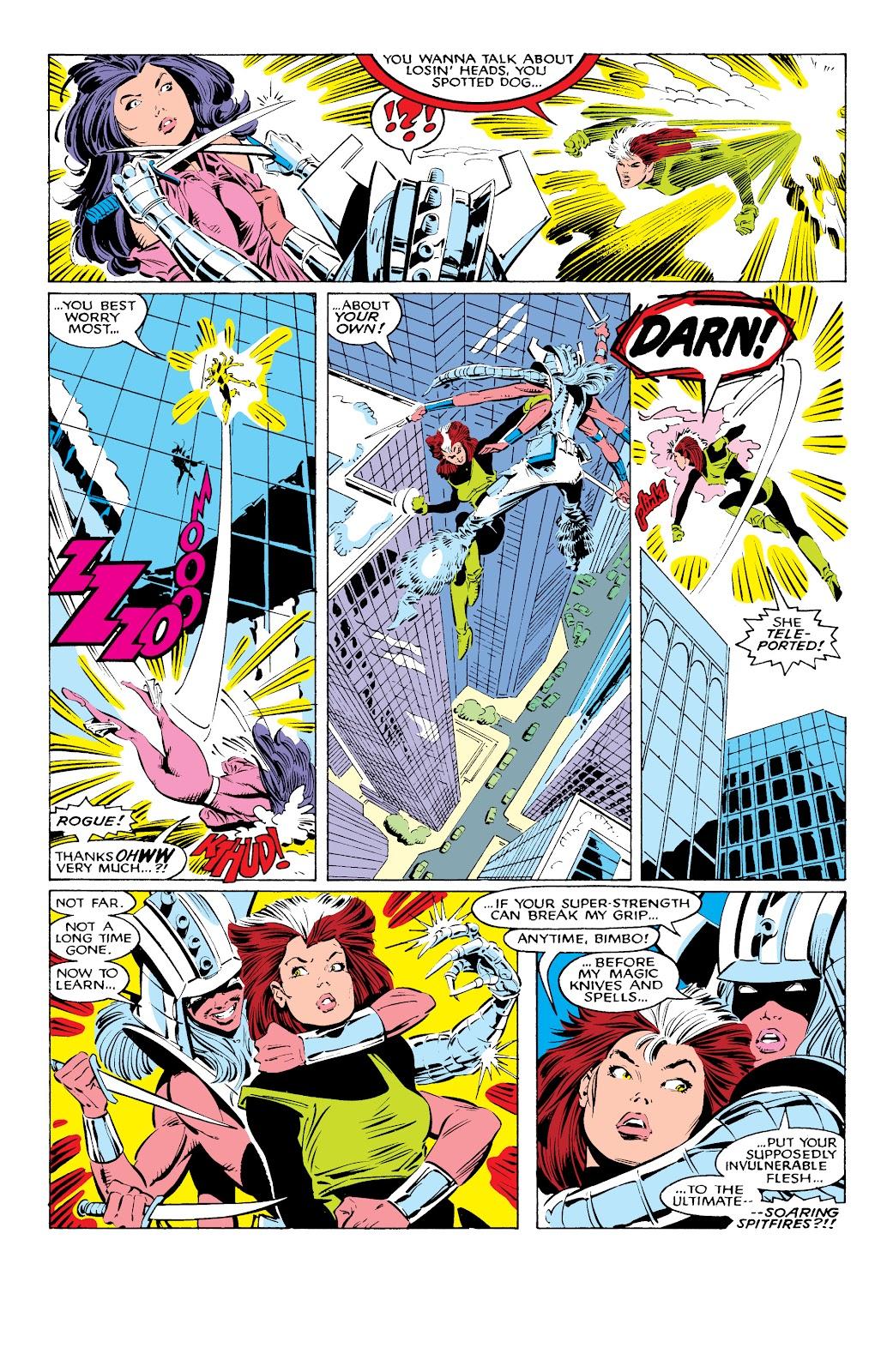 Read online X-Men Milestones: Fall of the Mutants comic -  Issue # TPB (Part 1) - 34