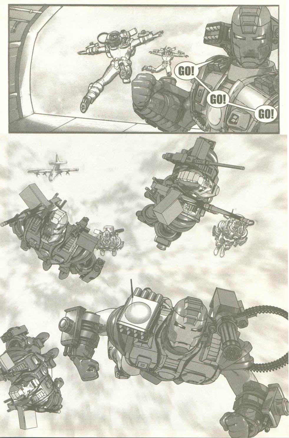 Read online U.S. War Machine comic -  Issue #6 - 12
