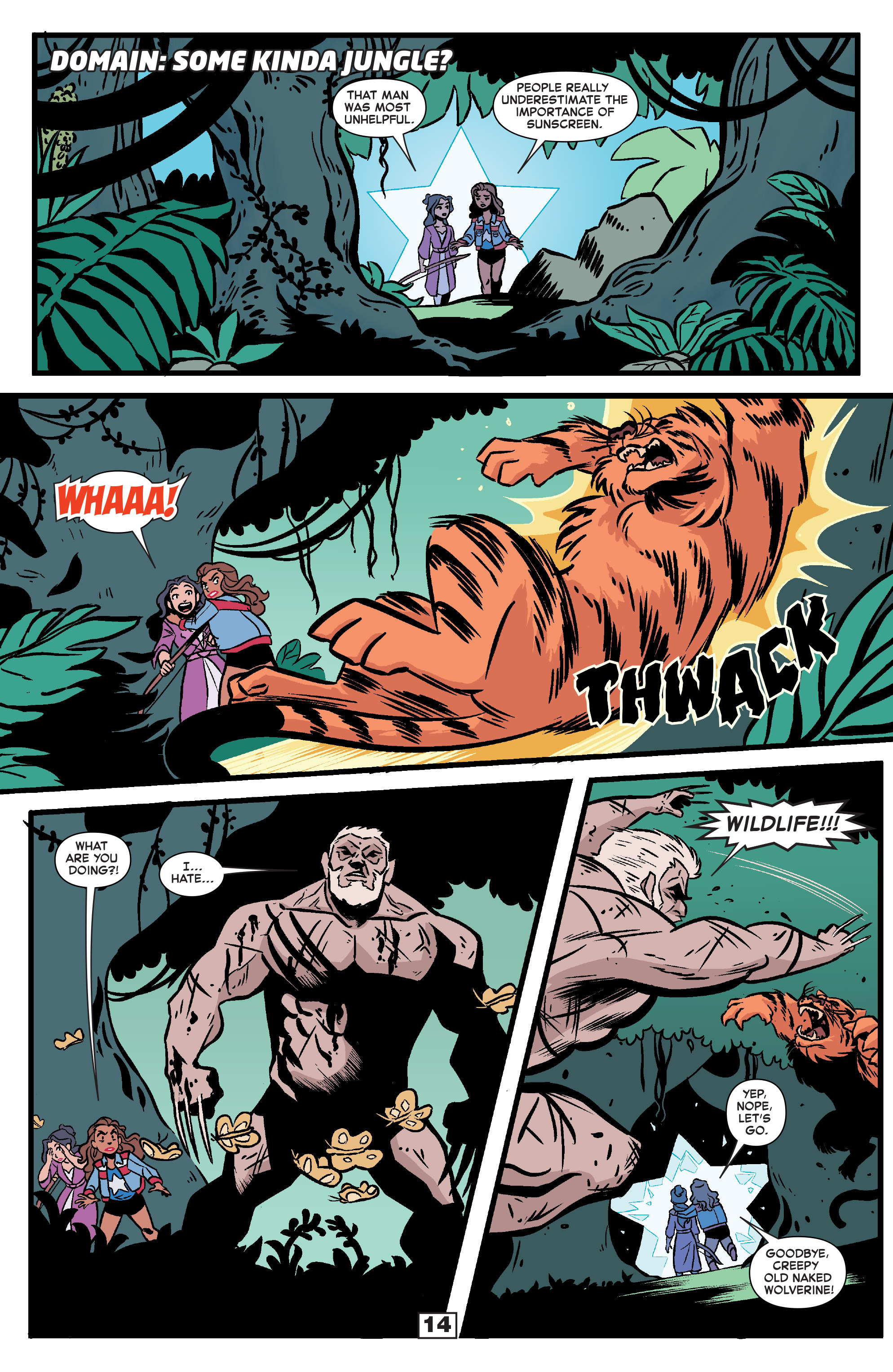 Read online Secret Wars Too comic -  Issue # Full - 16